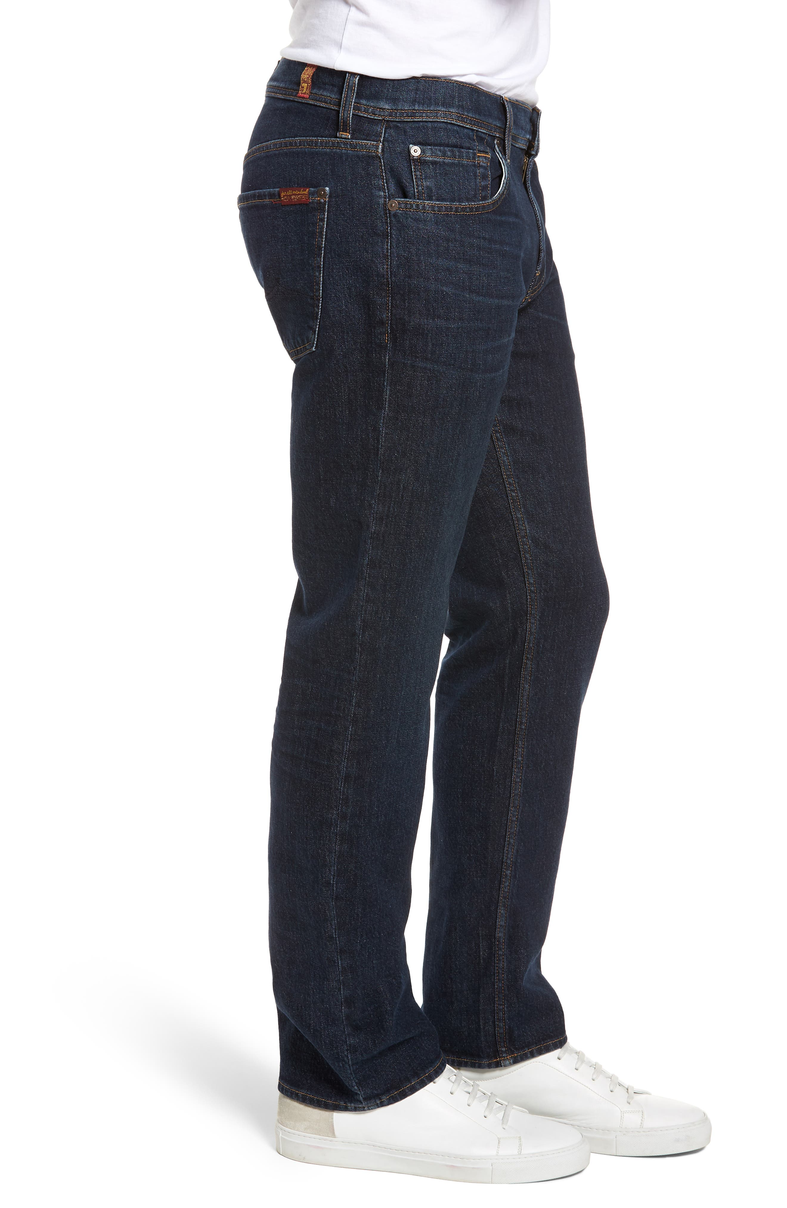 Standard Straight Leg Jeans,                             Alternate thumbnail 3, color,                             402