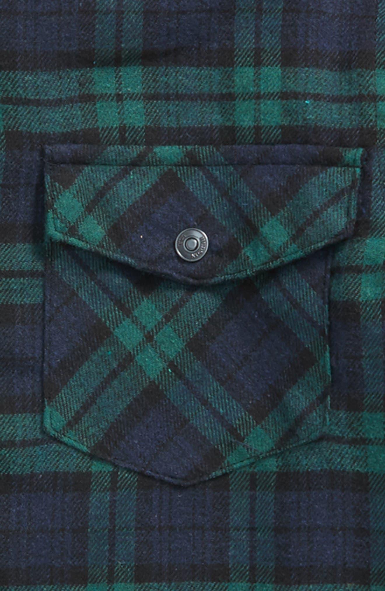 Hudson Jeans Check Sport Shirt,                             Alternate thumbnail 2, color,                             363