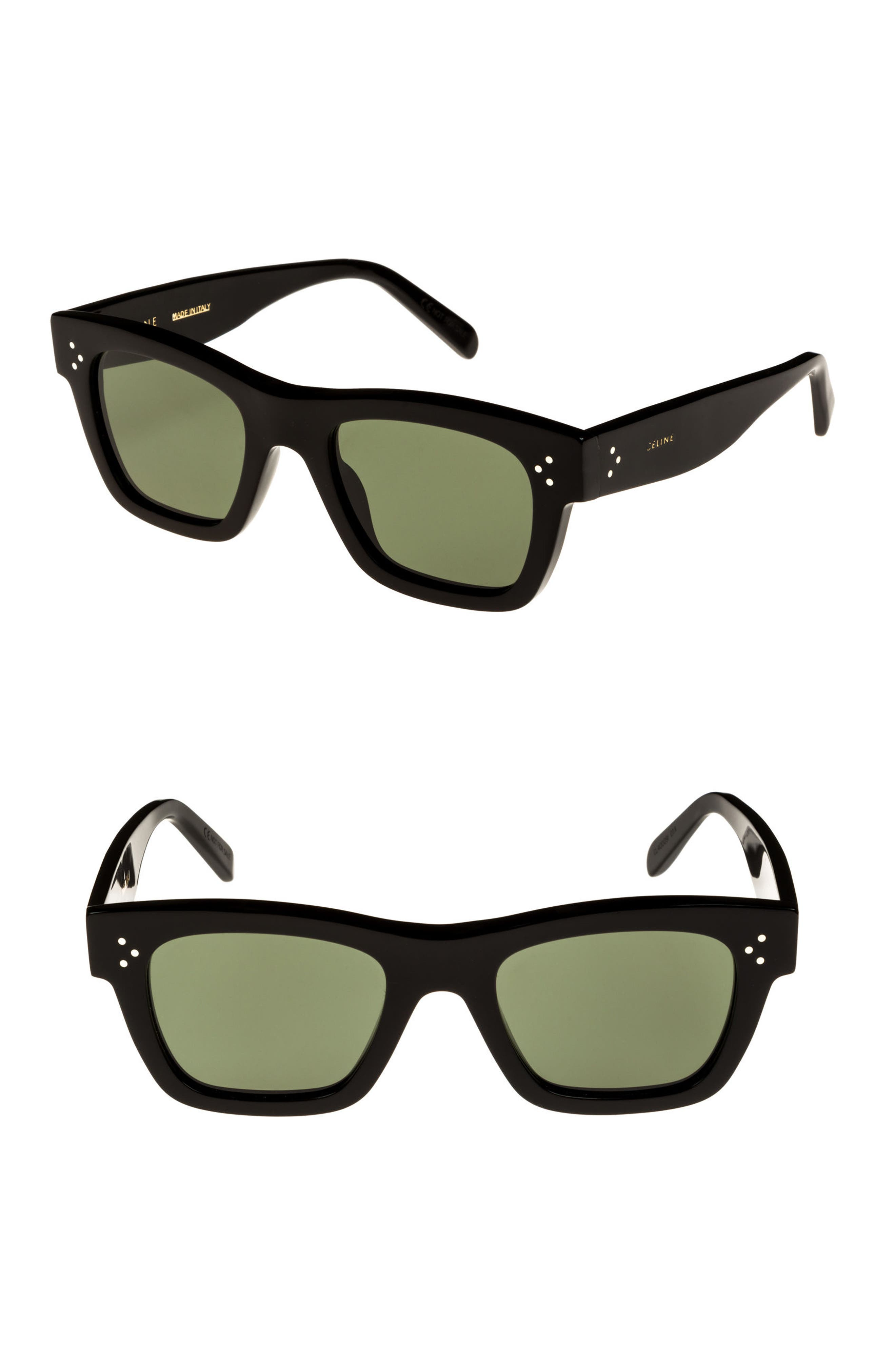 51mm Rectangle Sunglasses,                         Main,                         color,