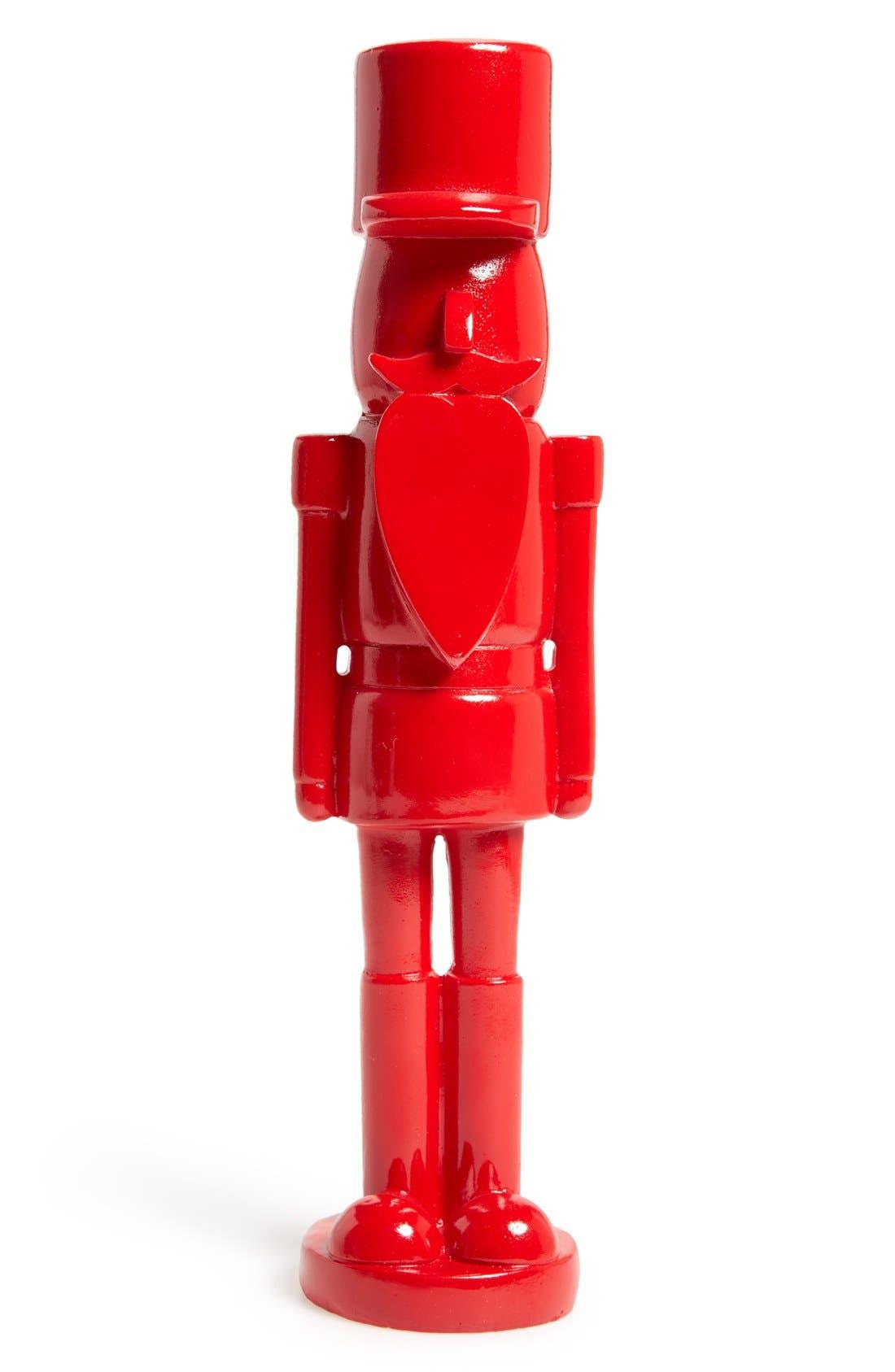 Nutcracker Ornament,                             Main thumbnail 1, color,                             RED