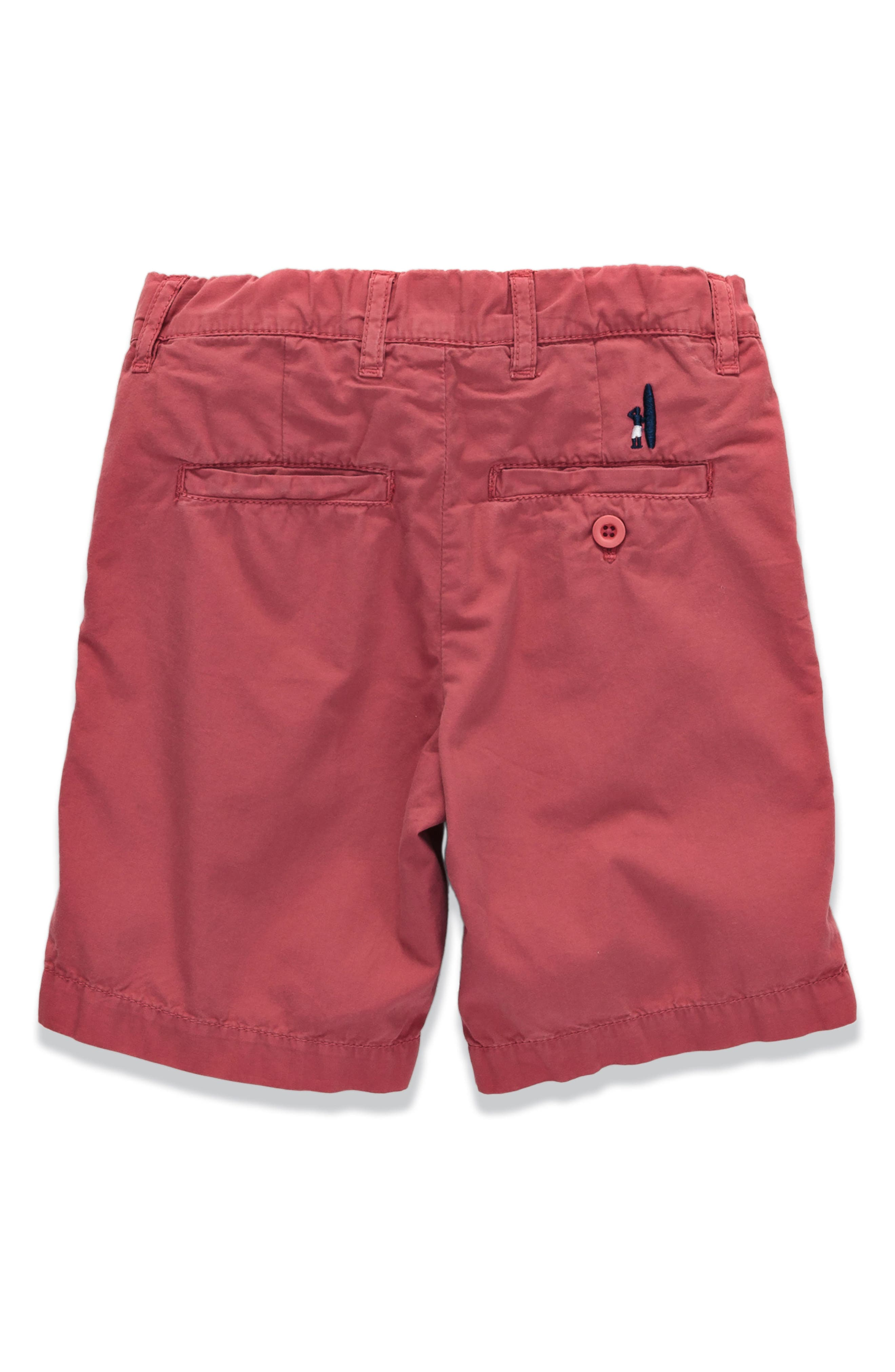 Derby Poplin Shorts,                             Main thumbnail 3, color,