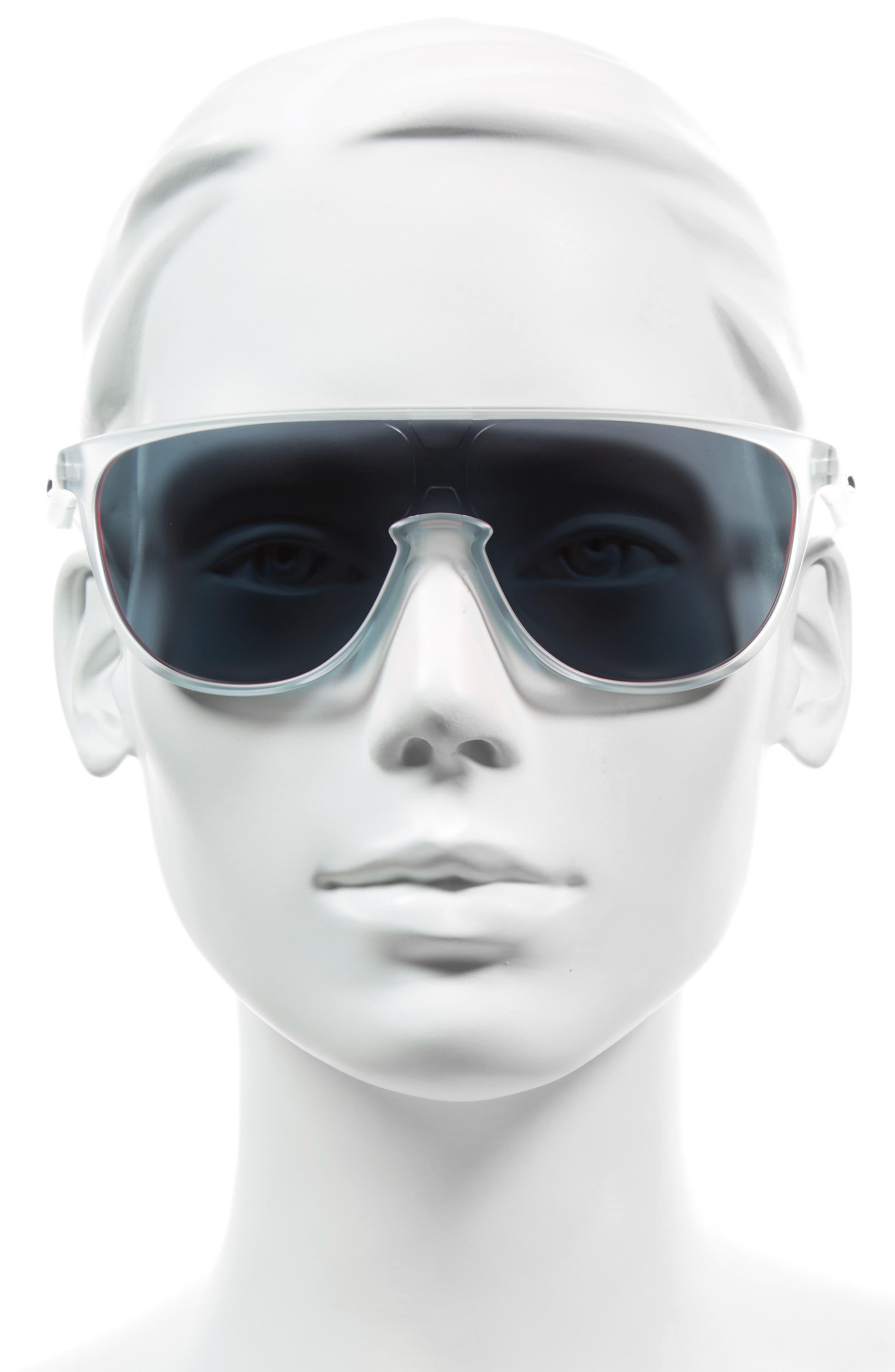 Trillbe 140mm Shield Sunglasses,                             Alternate thumbnail 7, color,