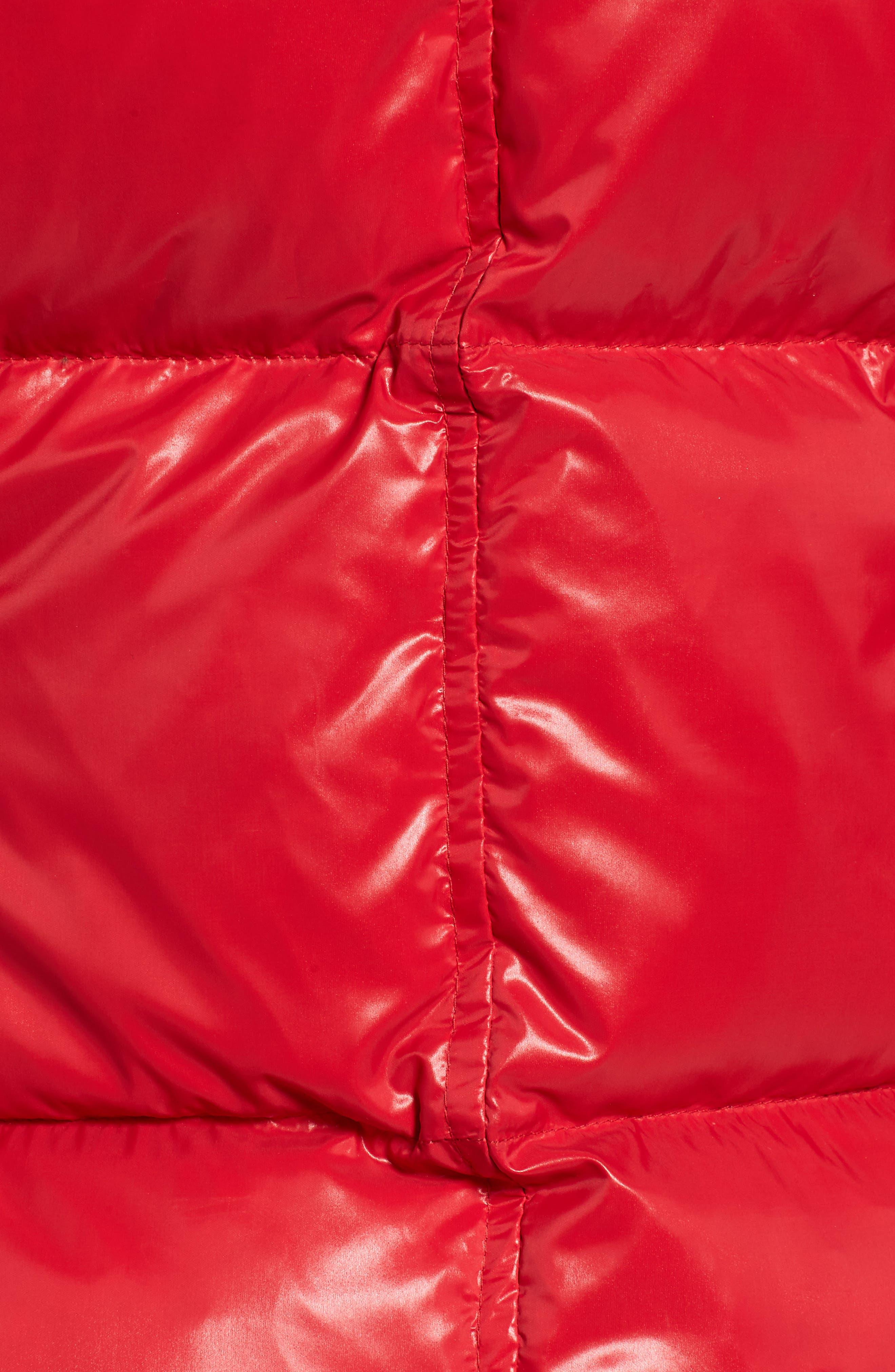 Kylie Faux Fur Trim Gloss Puffer Jacket,                             Alternate thumbnail 33, color,