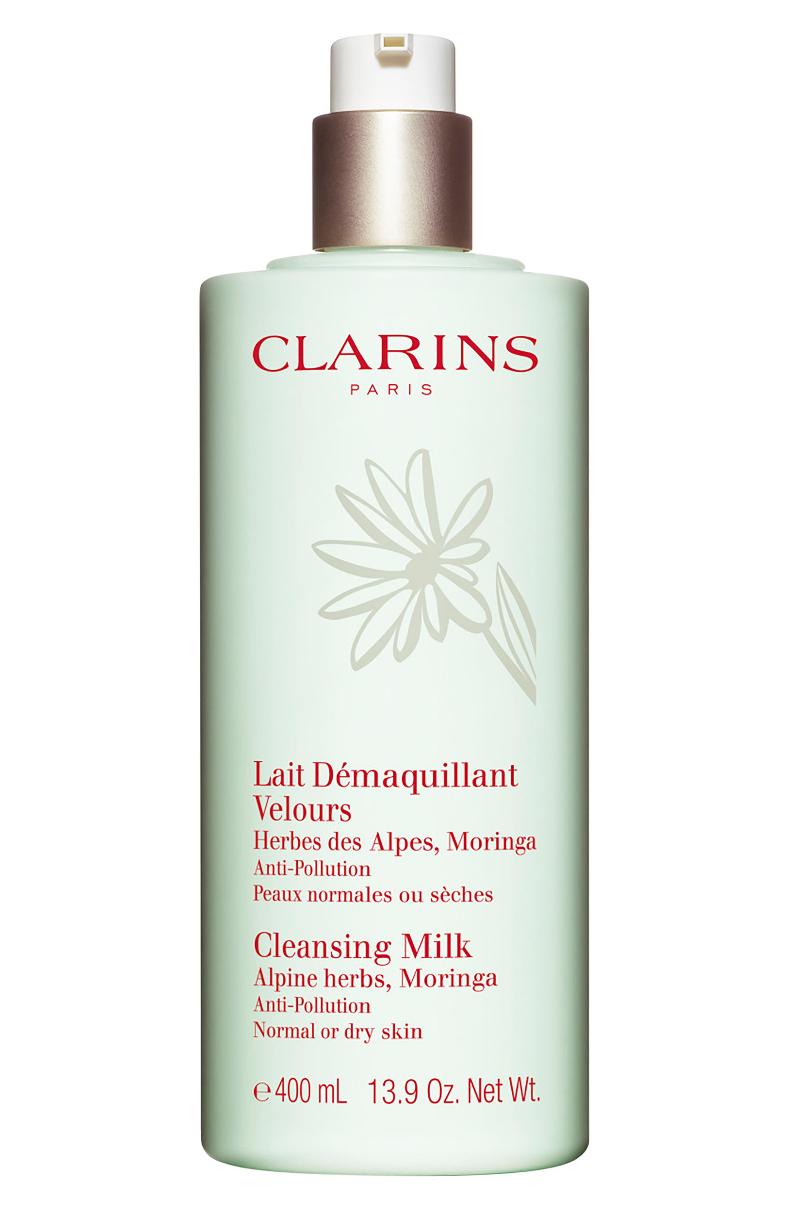 CLARINS,                             Cleansing Milk with Alpine Herbs,                             Alternate thumbnail 2, color,                             NO COLOR