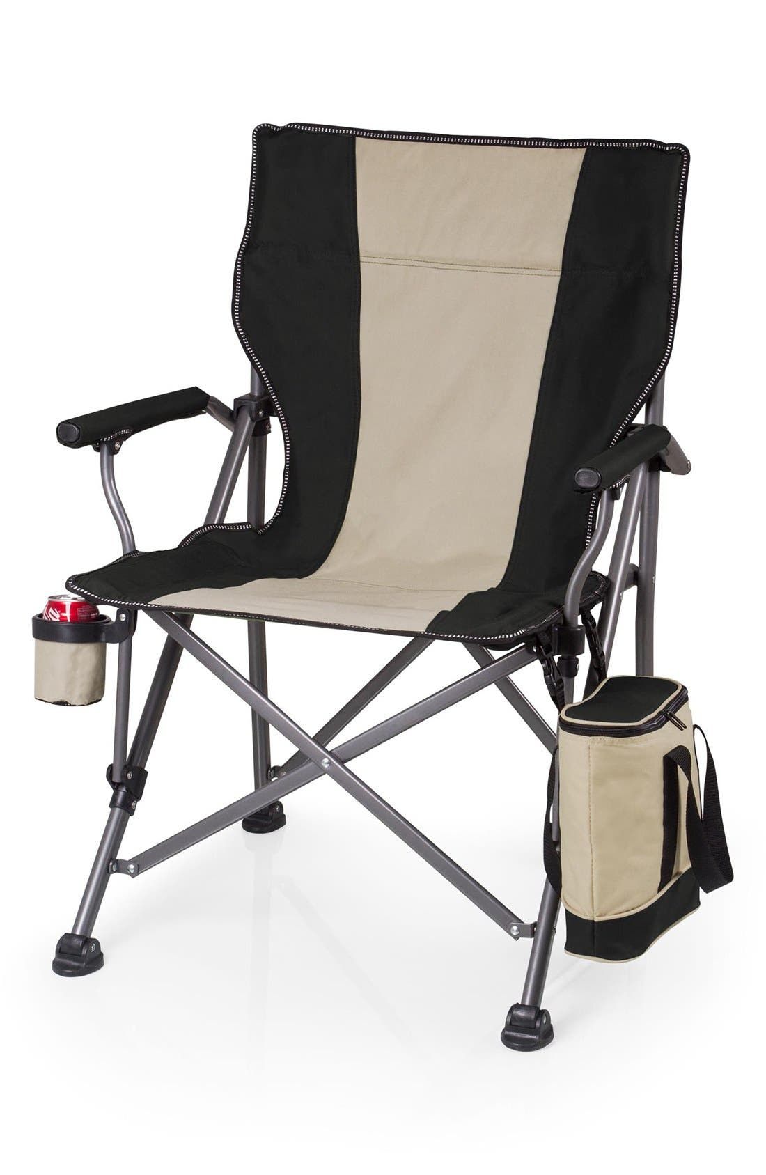 'Outlander' Camp Chair,                         Main,                         color, BLACK
