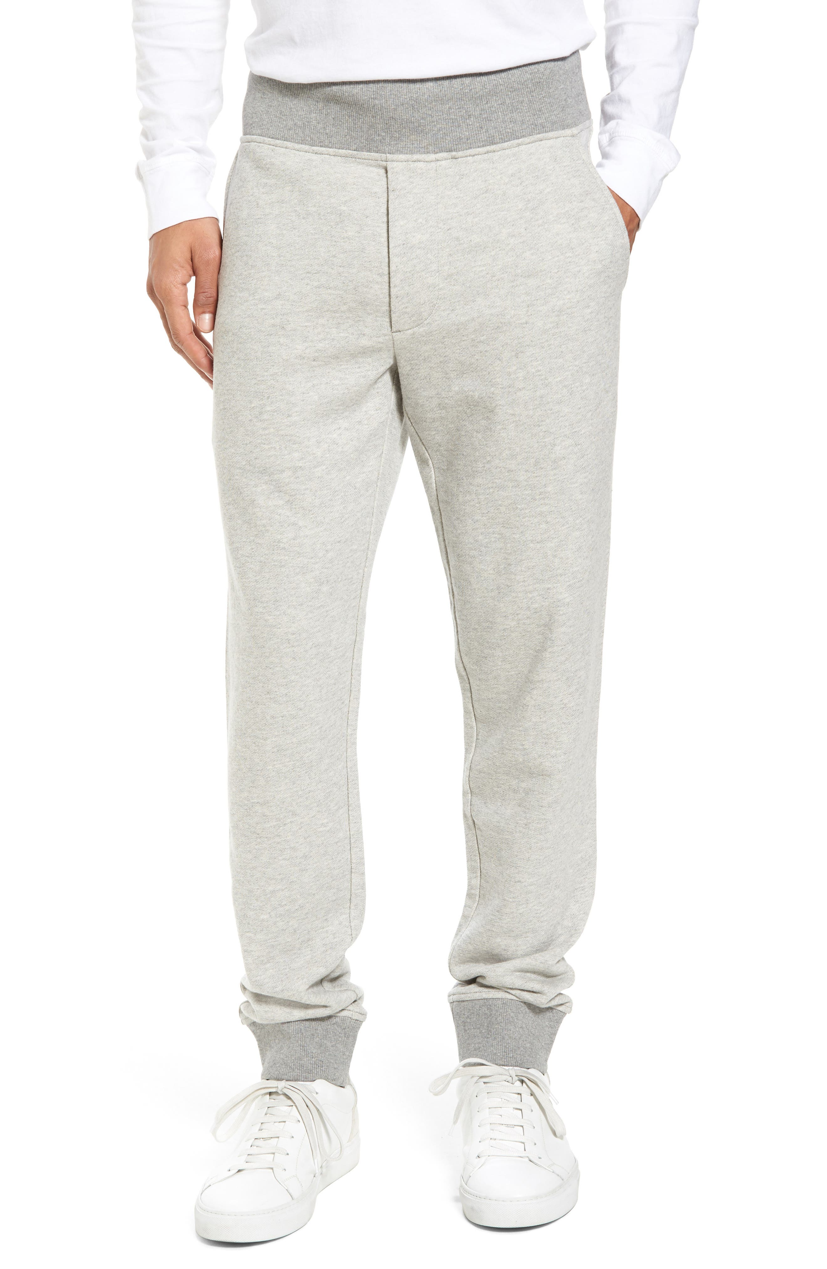 French Terry Regular Fit Sweatpants,                             Main thumbnail 2, color,
