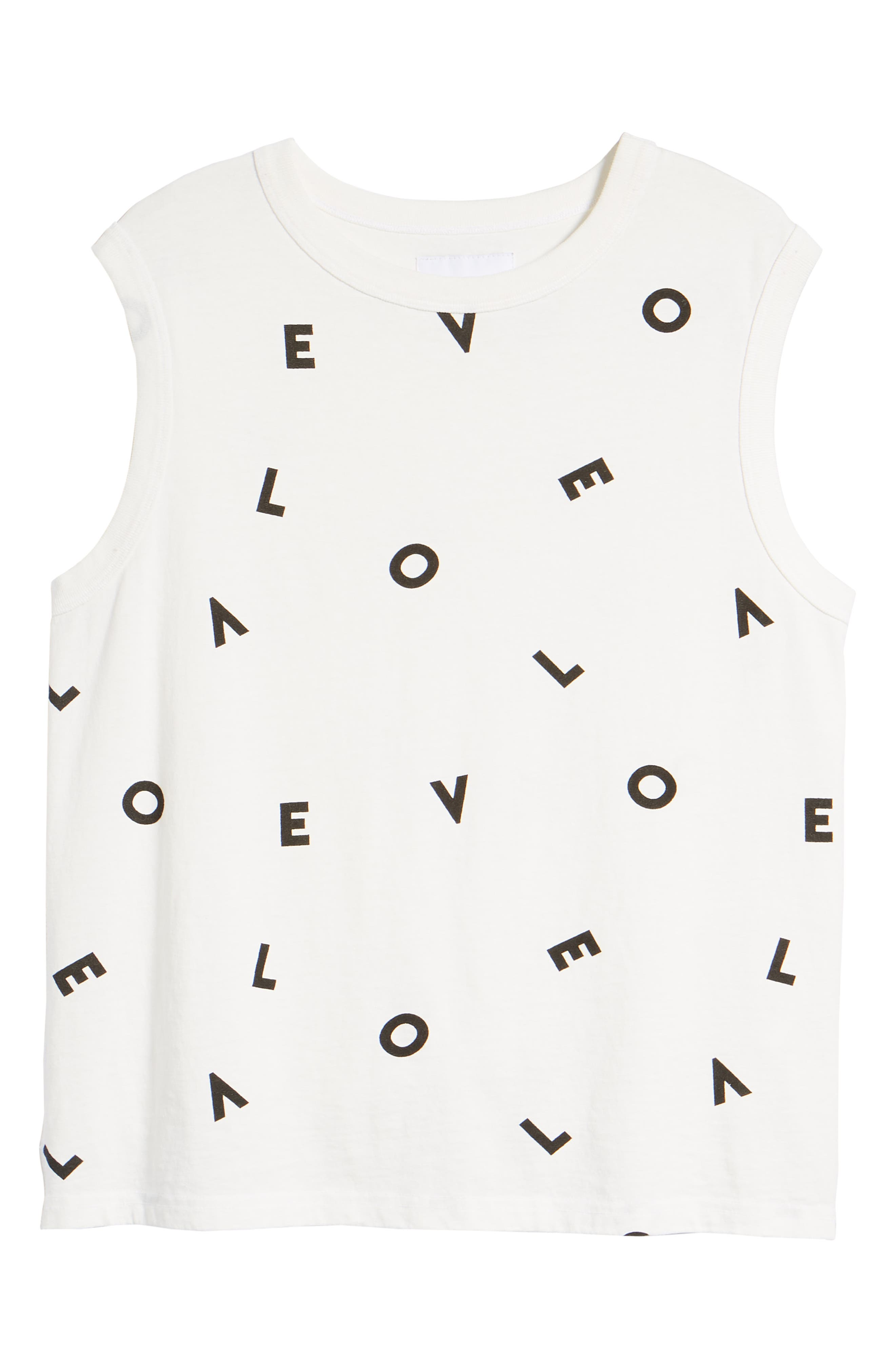 The Muscle Tee Love Tank,                             Alternate thumbnail 7, color,                             149