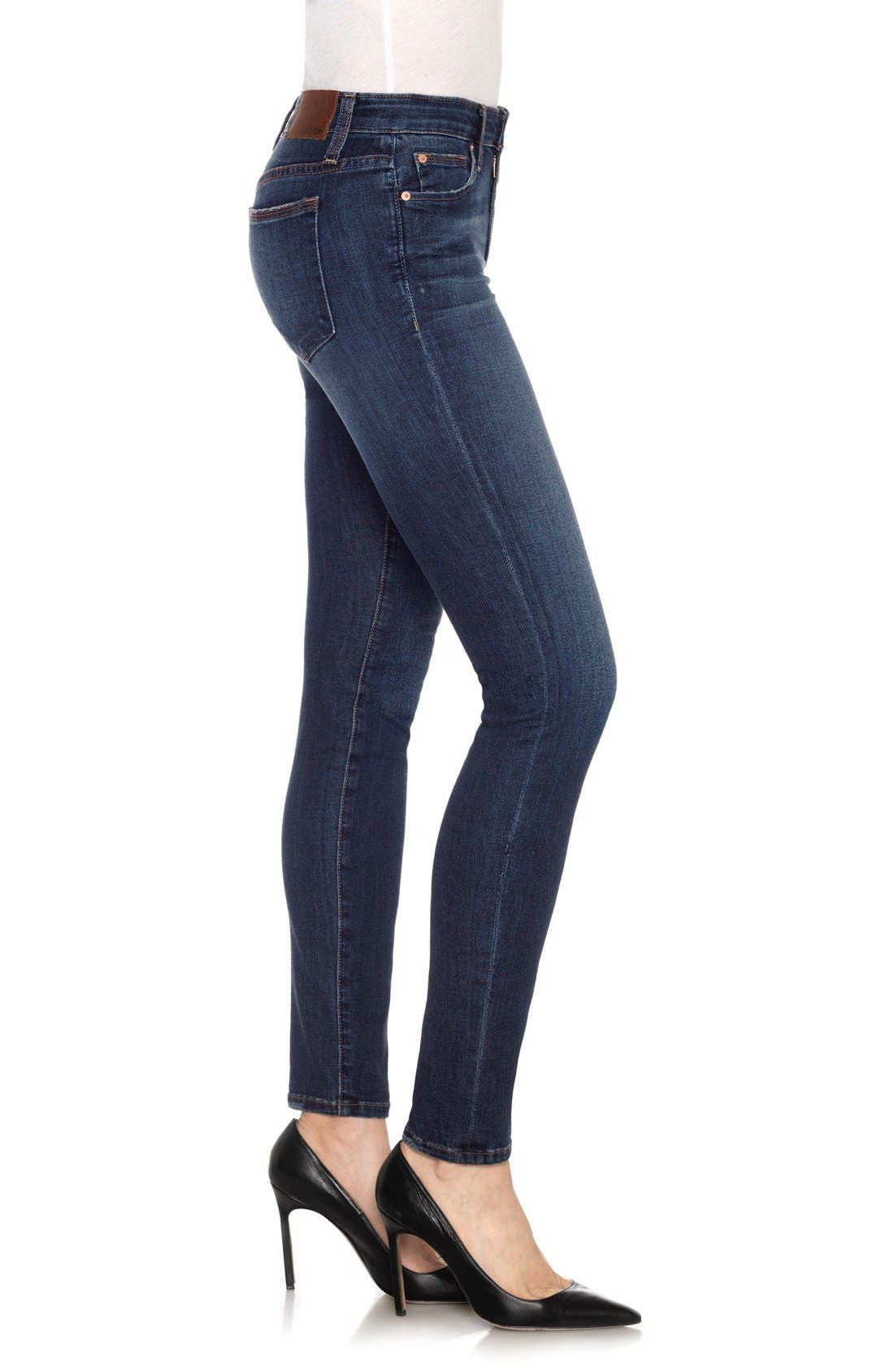 'Flawless' Cigarette Leg Jeans,                             Alternate thumbnail 3, color,                             400