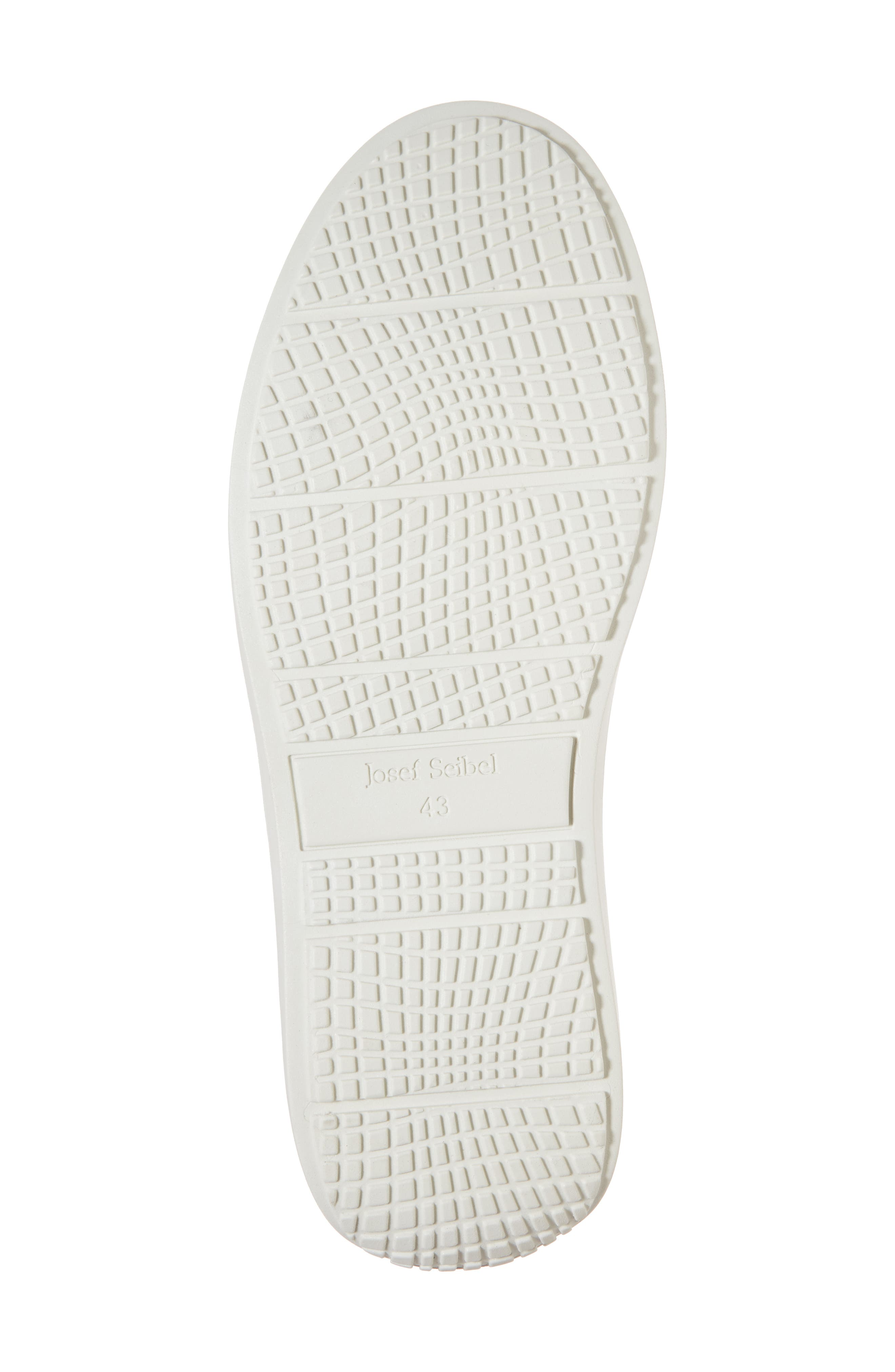 Quentin 15 Slip-On Sneaker,                             Alternate thumbnail 6, color,                             BLACK LEATHER