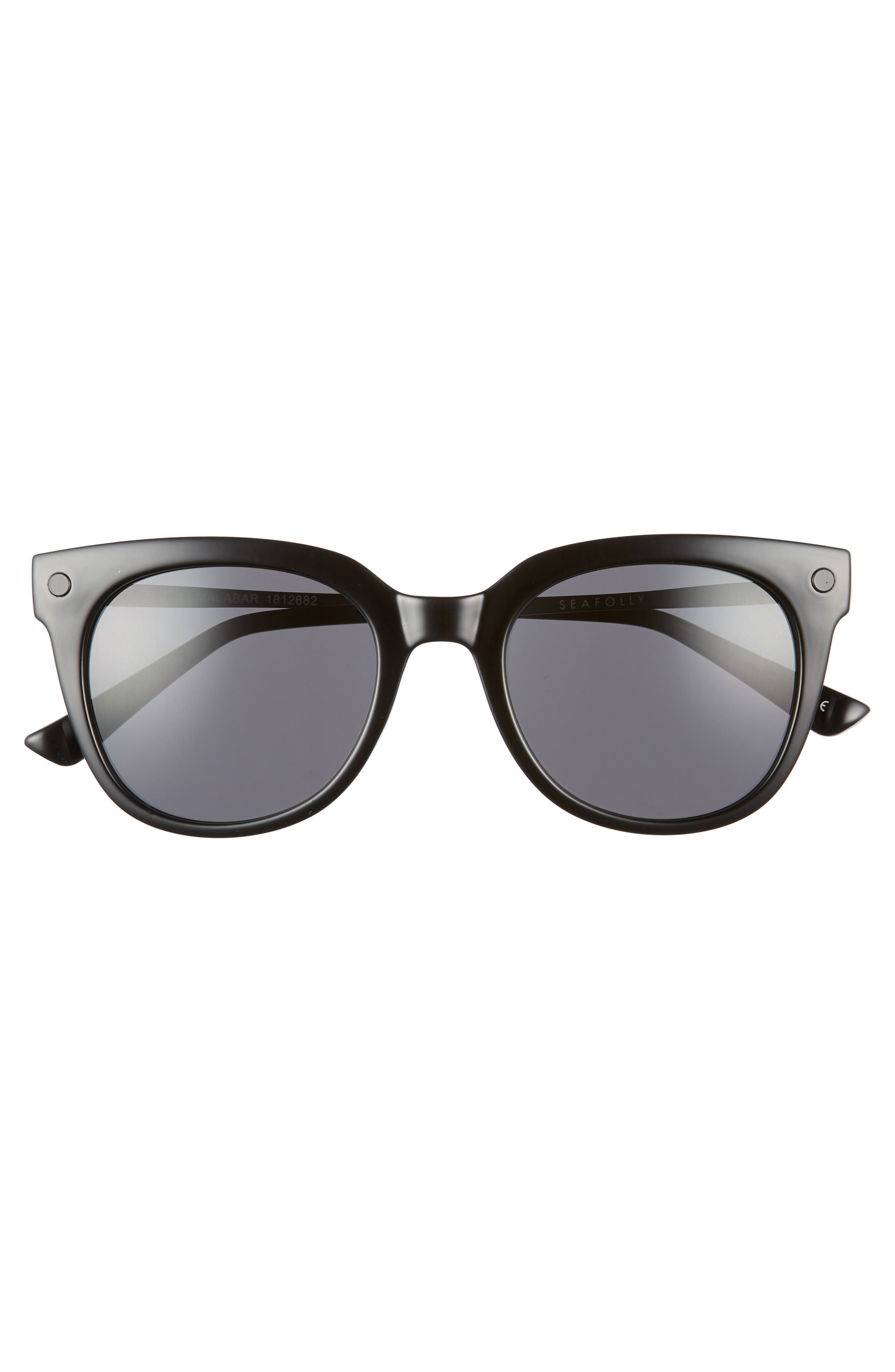 Malabar 52mm Sunglasses,                             Alternate thumbnail 3, color,                             001