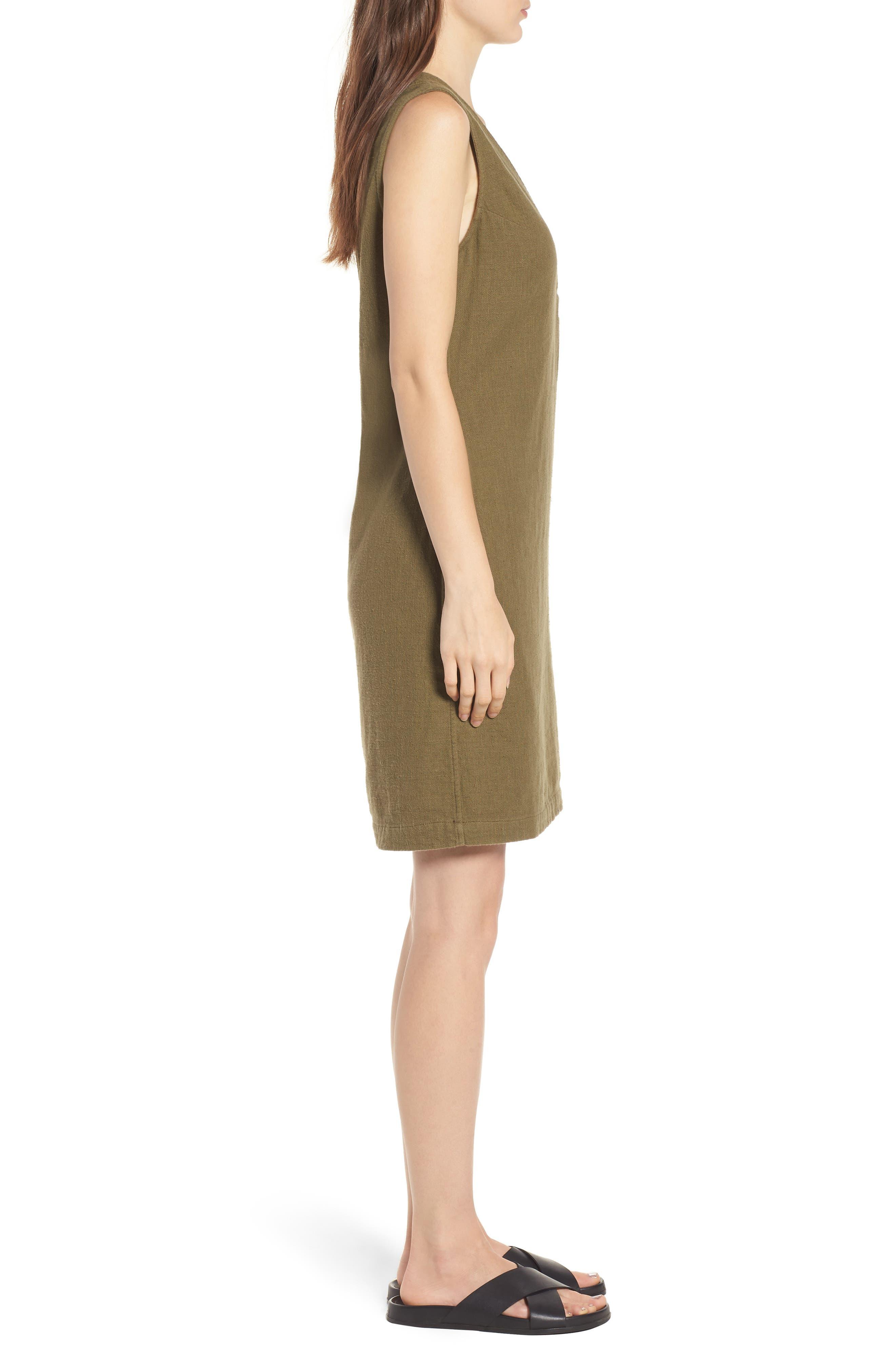 Melissa Dress,                             Alternate thumbnail 3, color,                             OLIVE GROVE