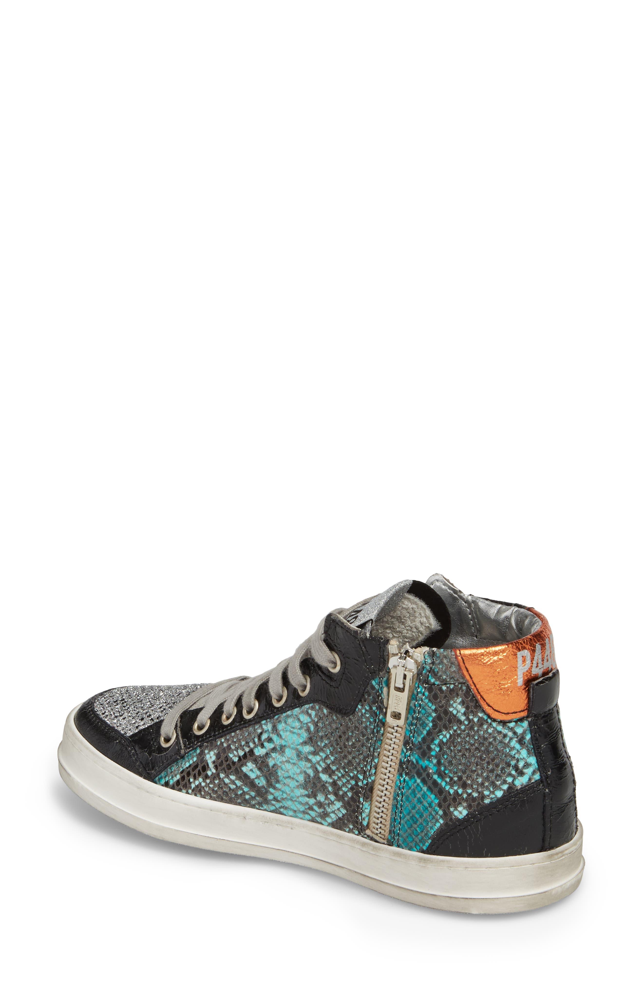 Love High Top Sneaker,                             Alternate thumbnail 2, color,
