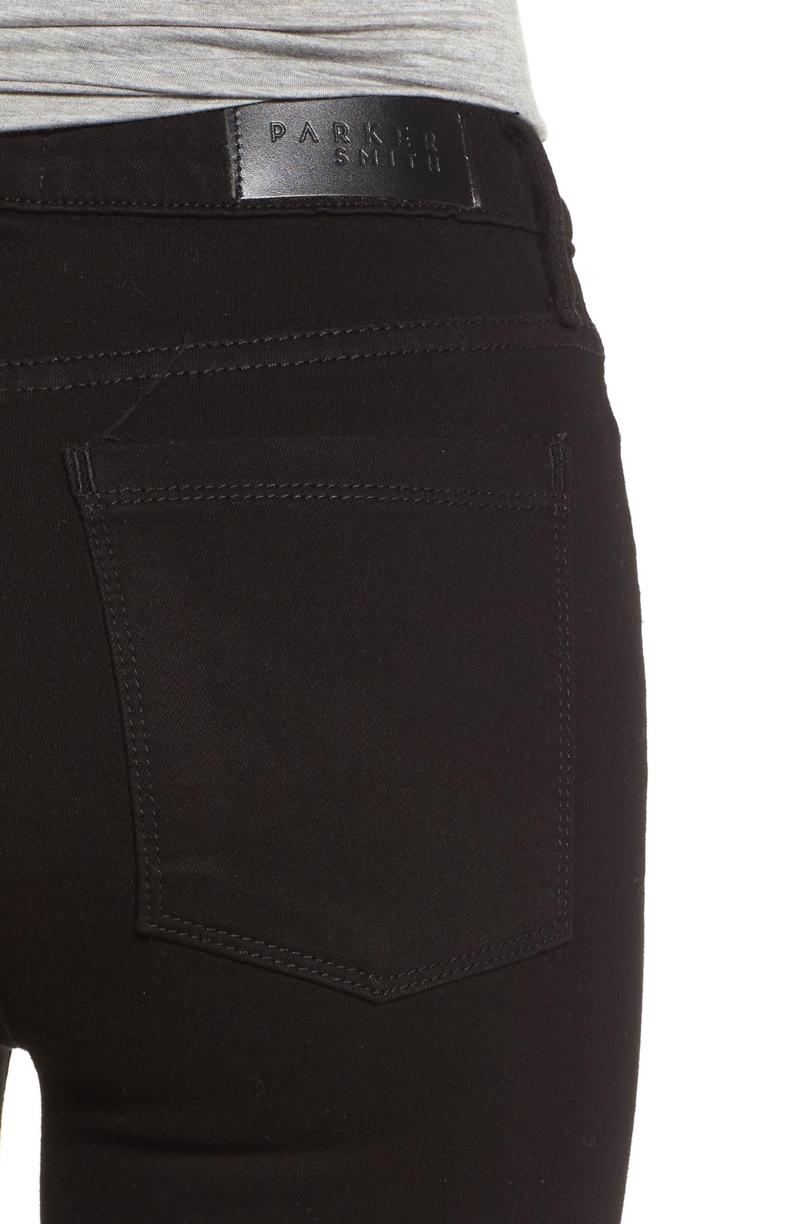 Bombshell Skinny Jeans,                             Alternate thumbnail 4, color,                             001