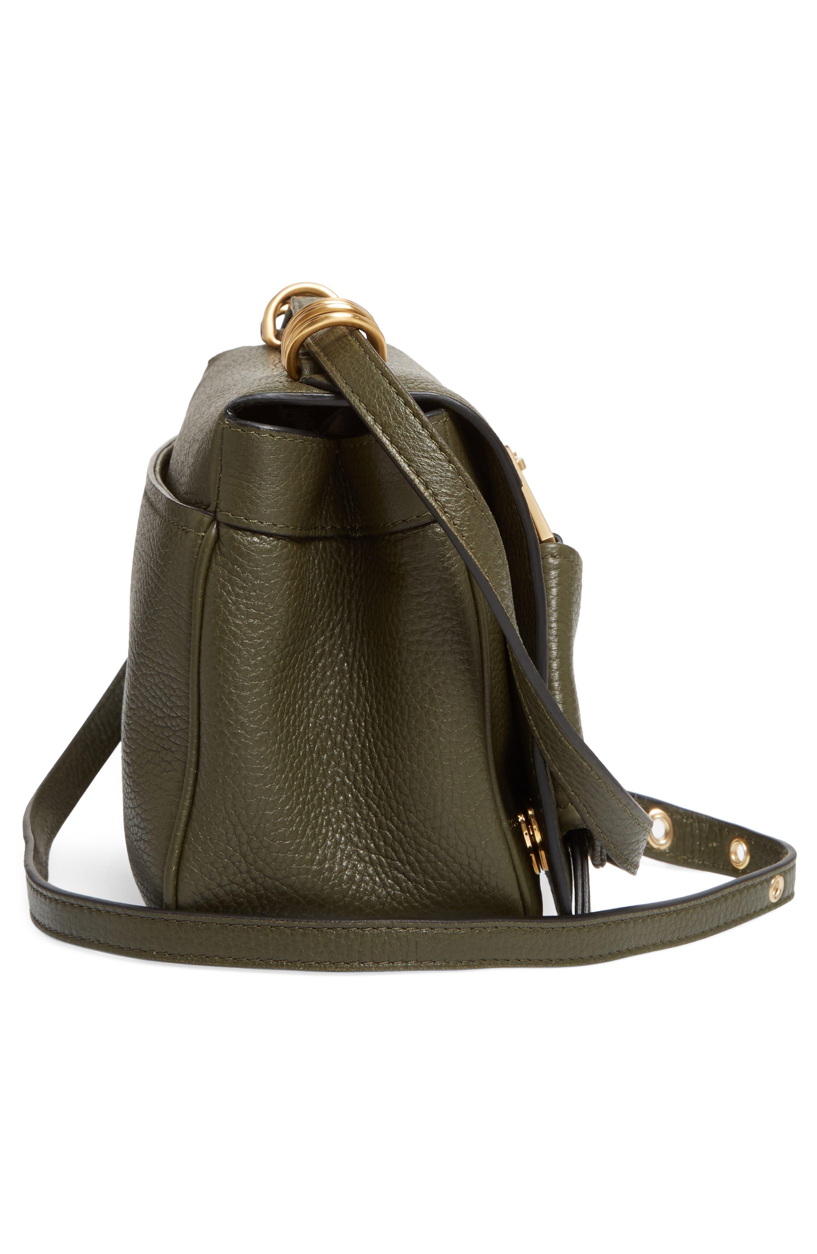 Grainy-B Leather Crossbody Bag,                             Alternate thumbnail 9, color,