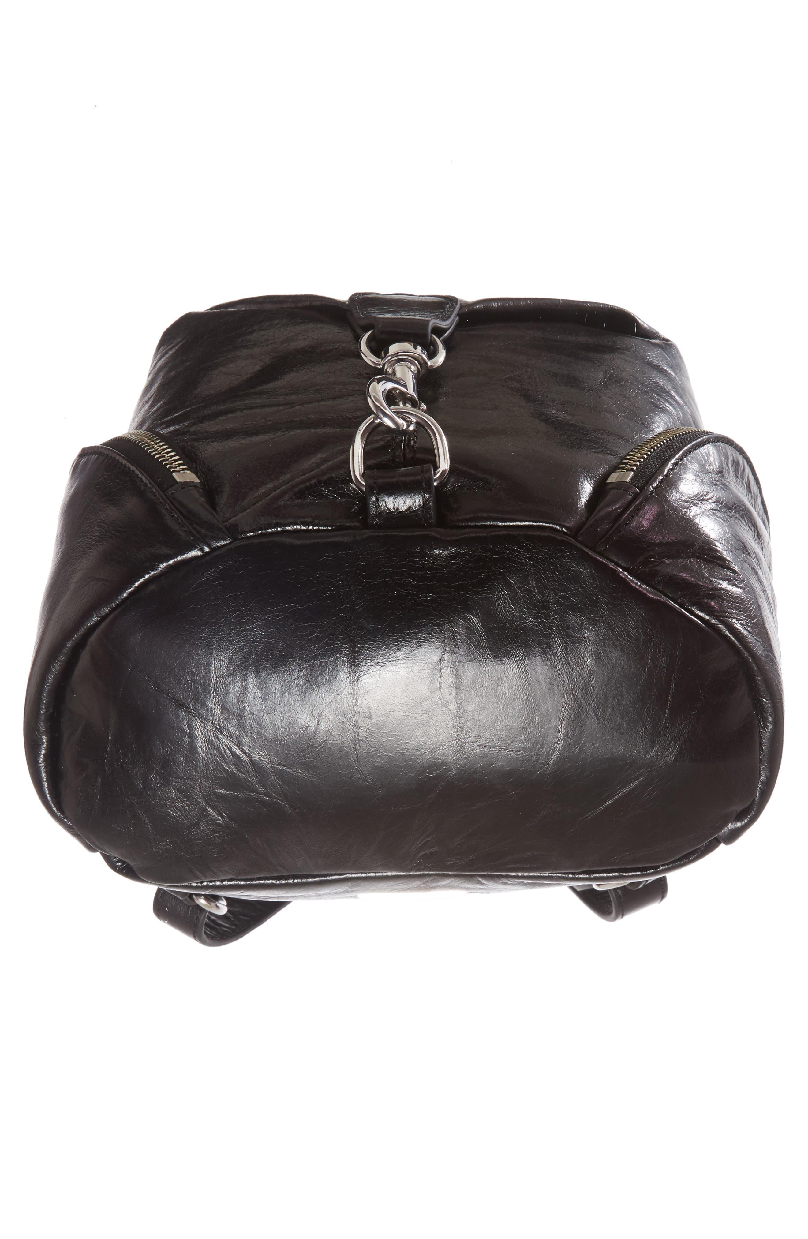 Medium Julian Leather Backpack,                             Alternate thumbnail 22, color,