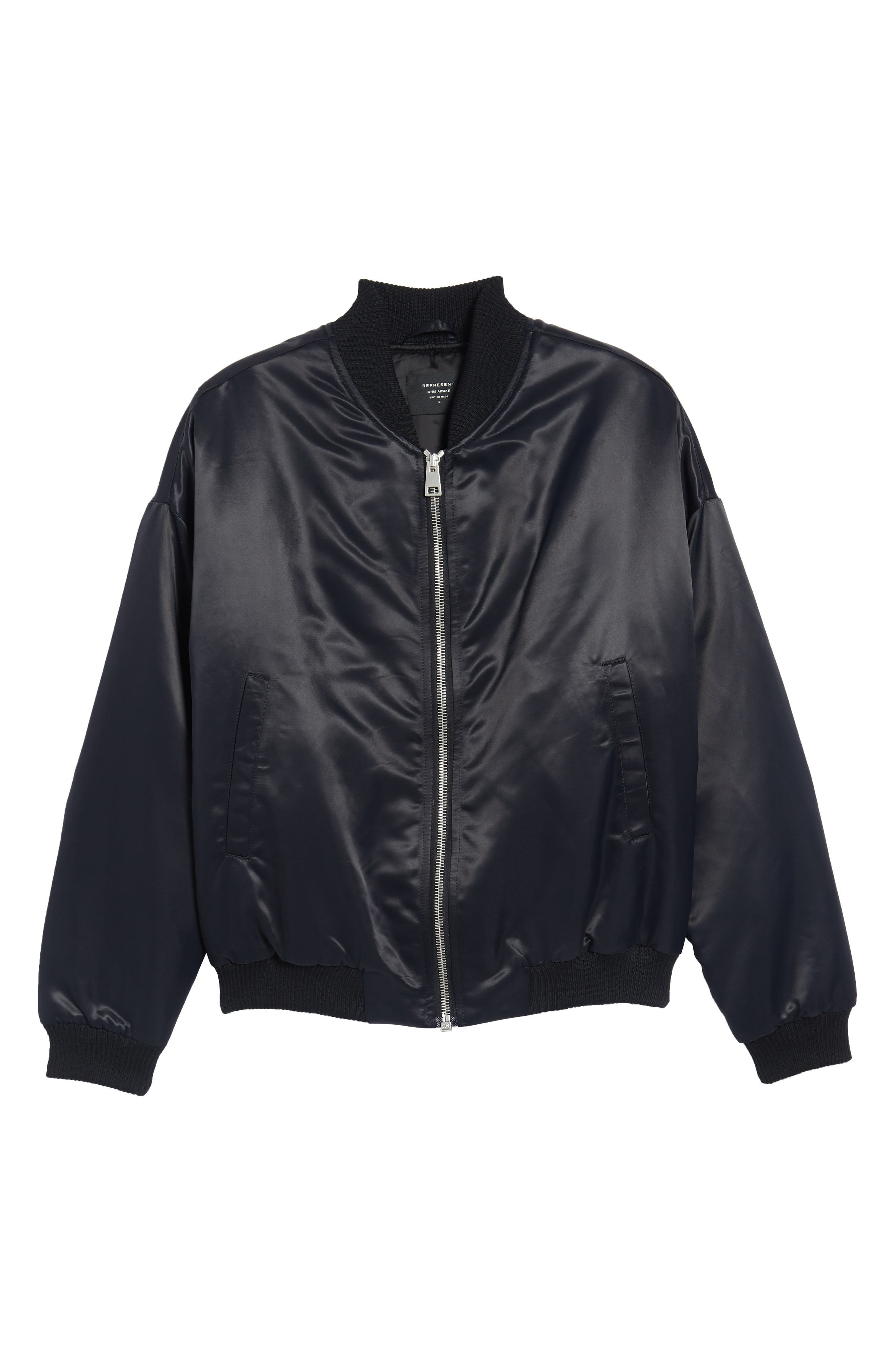 Standard Bomber Jacket,                             Alternate thumbnail 5, color,                             001