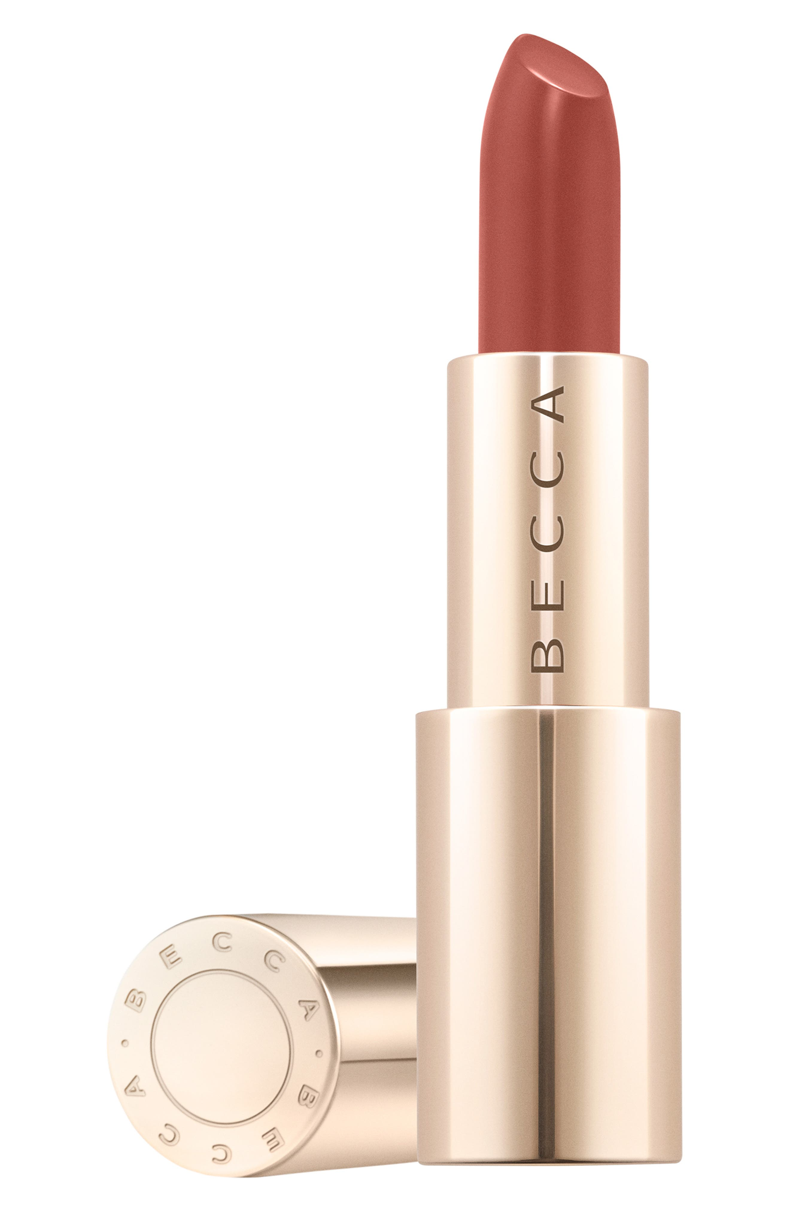 BECCA COSMETICS,                             BECCA Ultimate Lipstick Love,                             Main thumbnail 1, color,                             MOCHA