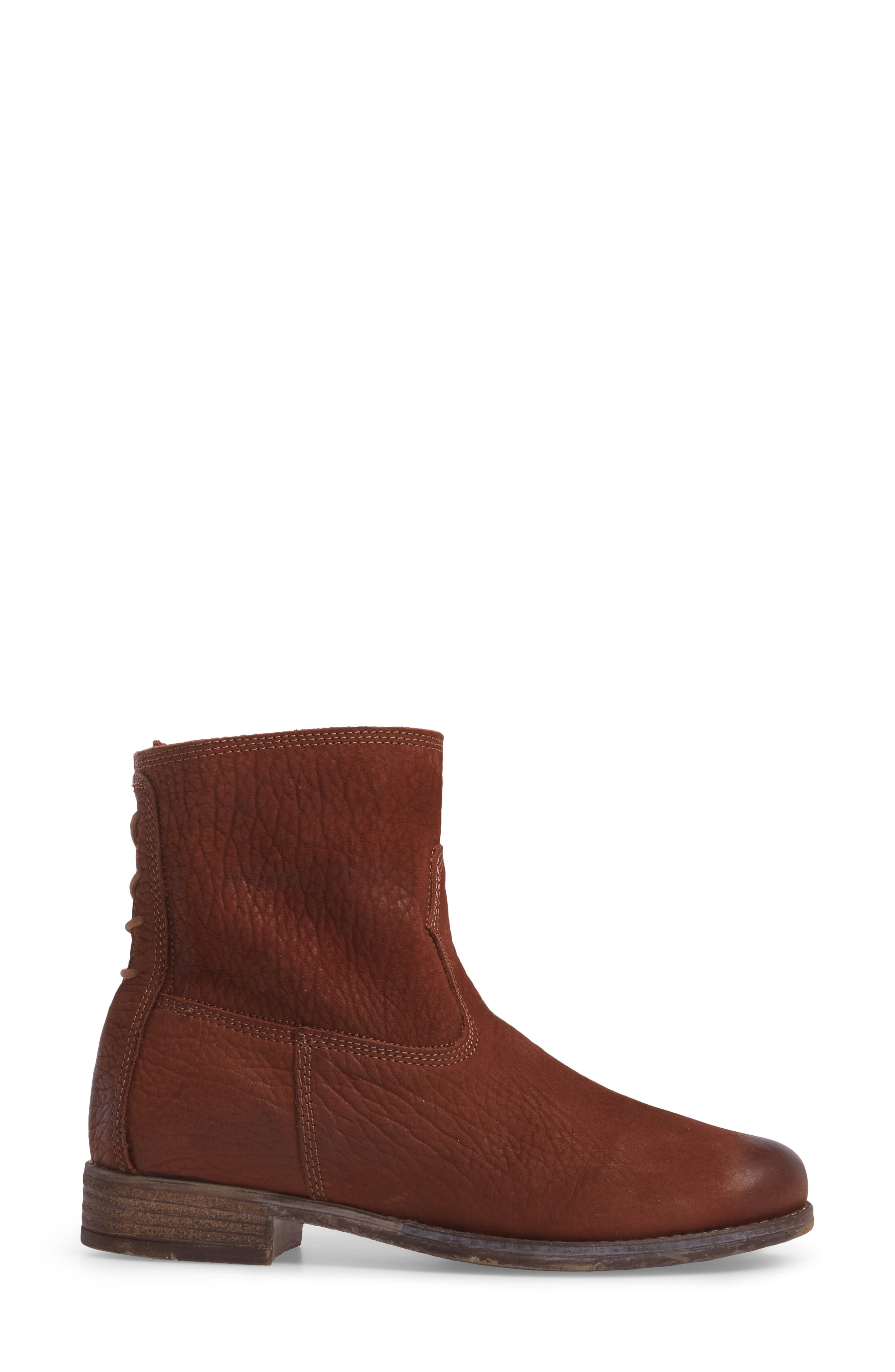 Sienna 01 Lace Back Bootie,                             Alternate thumbnail 8, color,