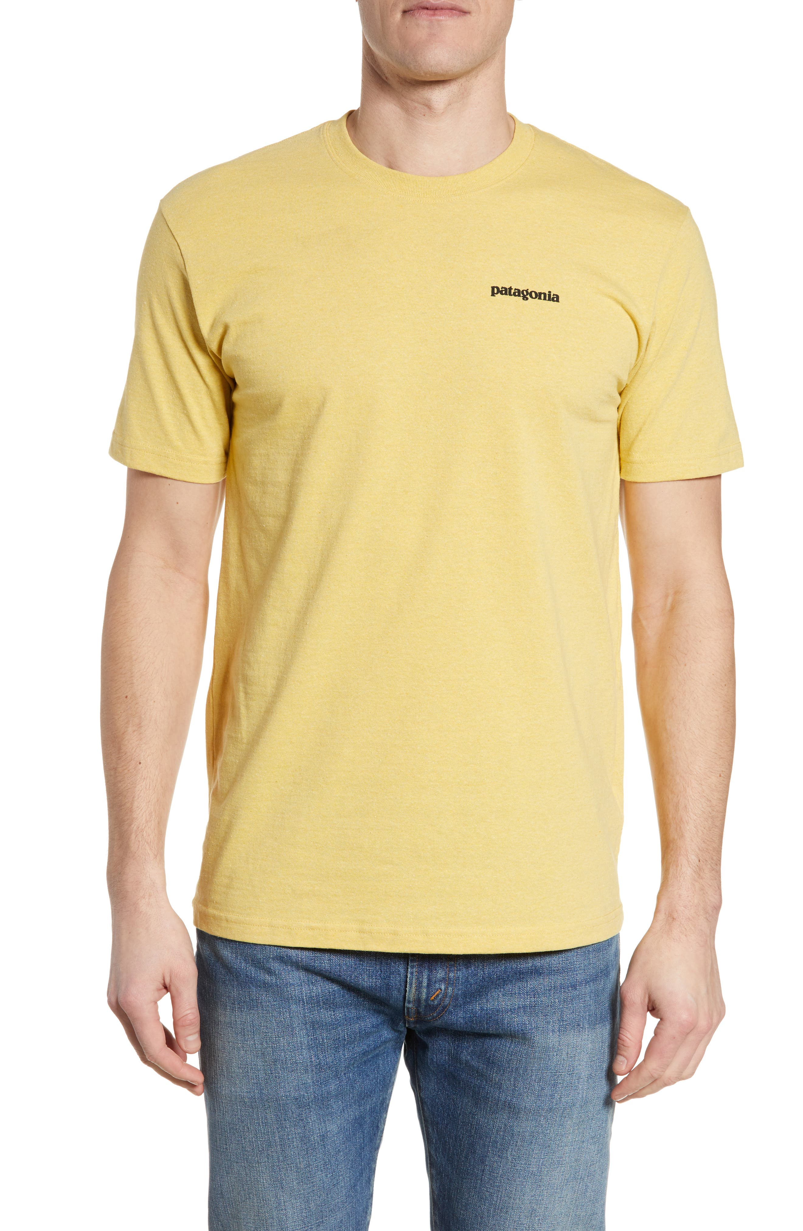 Patagonia Responsibili-Tee T-Shirt, Yellow