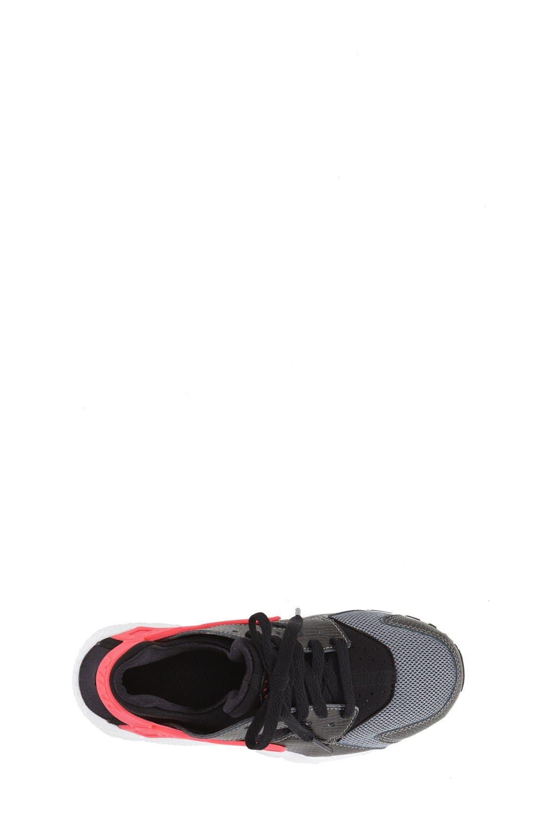 NIKE,                             'Huarache' Sneaker,                             Alternate thumbnail 4, color,                             010
