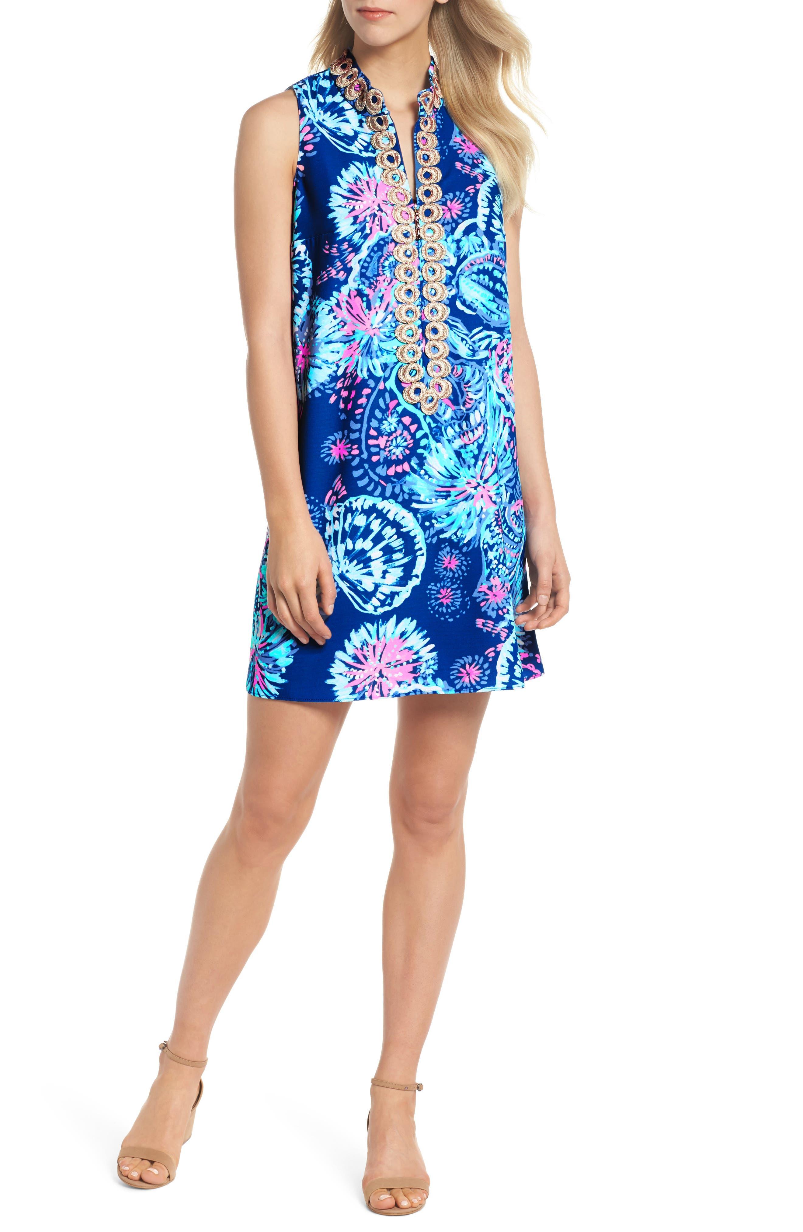 Jane Shift Dress,                         Main,                         color, 400