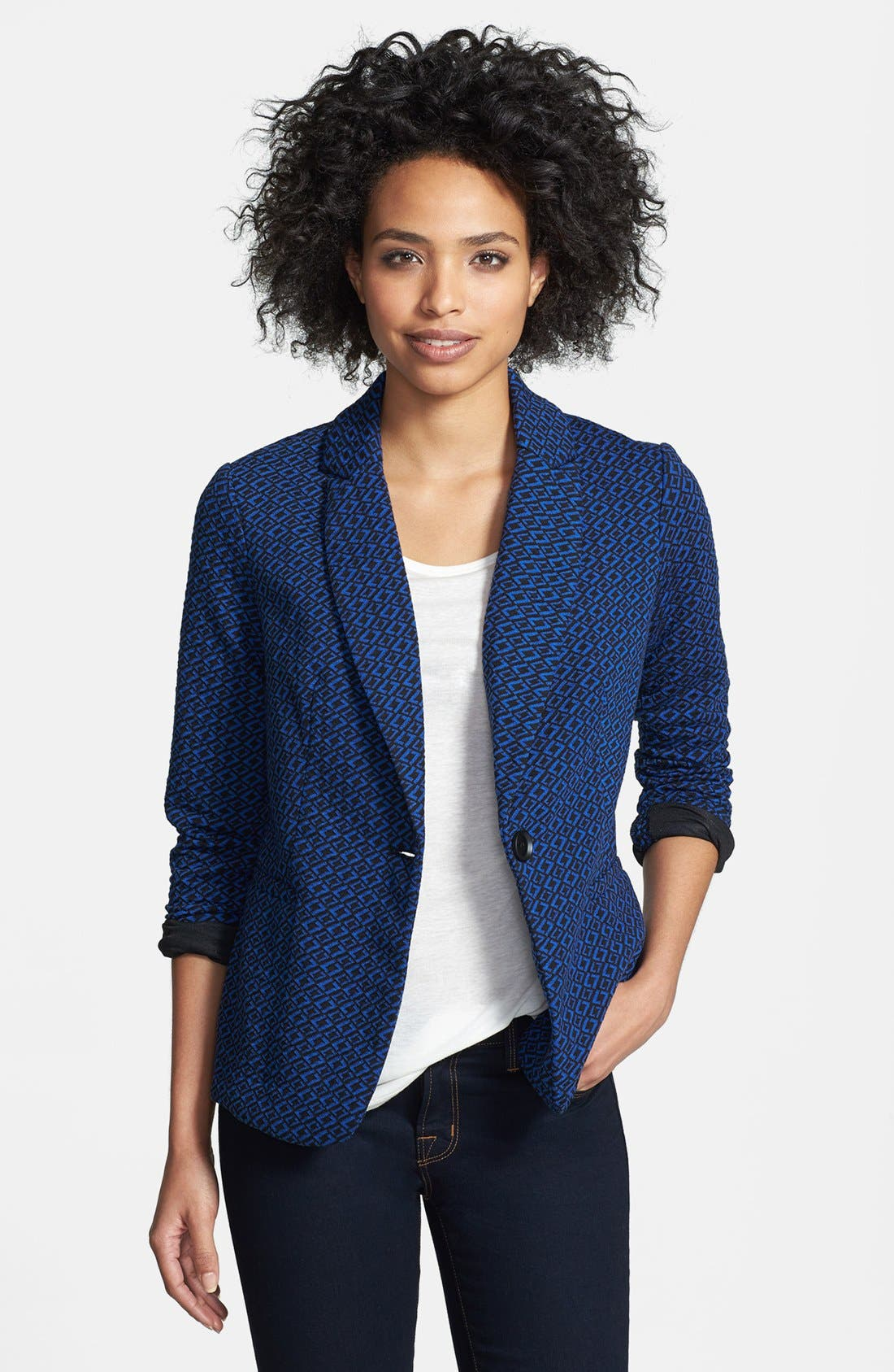 Knit Blazer,                             Main thumbnail 28, color,
