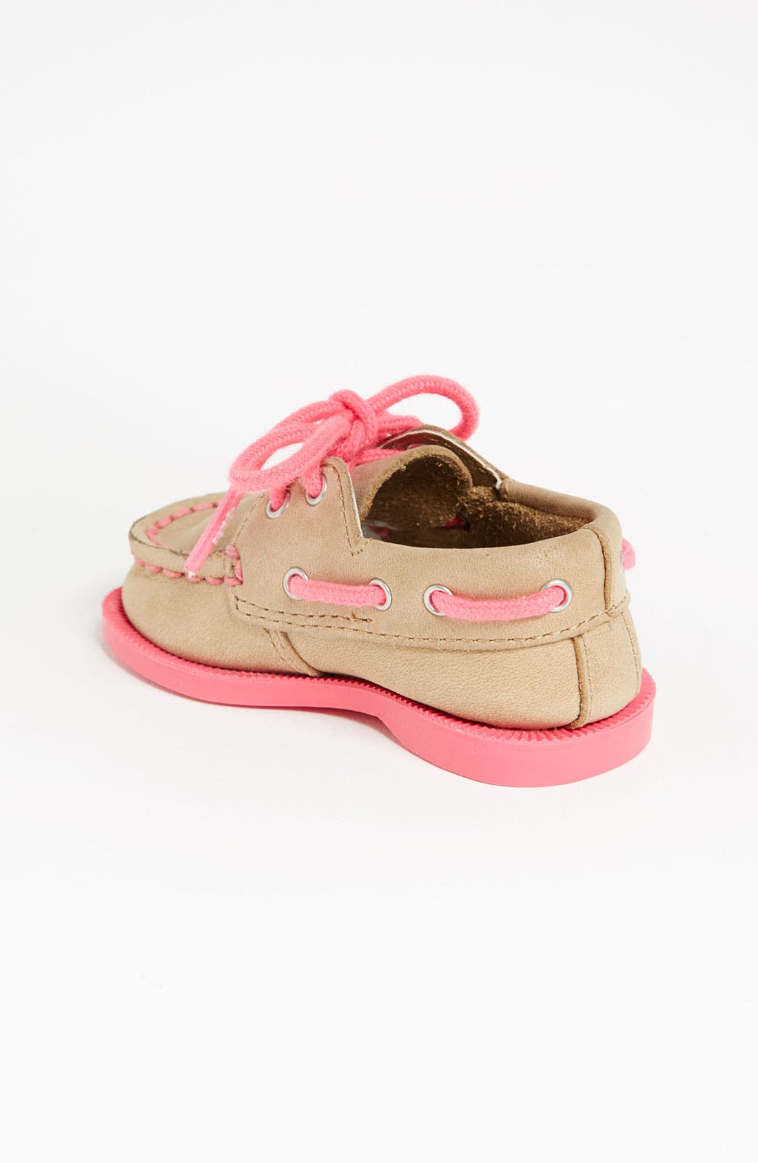 Sperry Top-Sider<sup>®</sup> Kids 'Authentic Original' Crib Shoe,                             Alternate thumbnail 3, color,