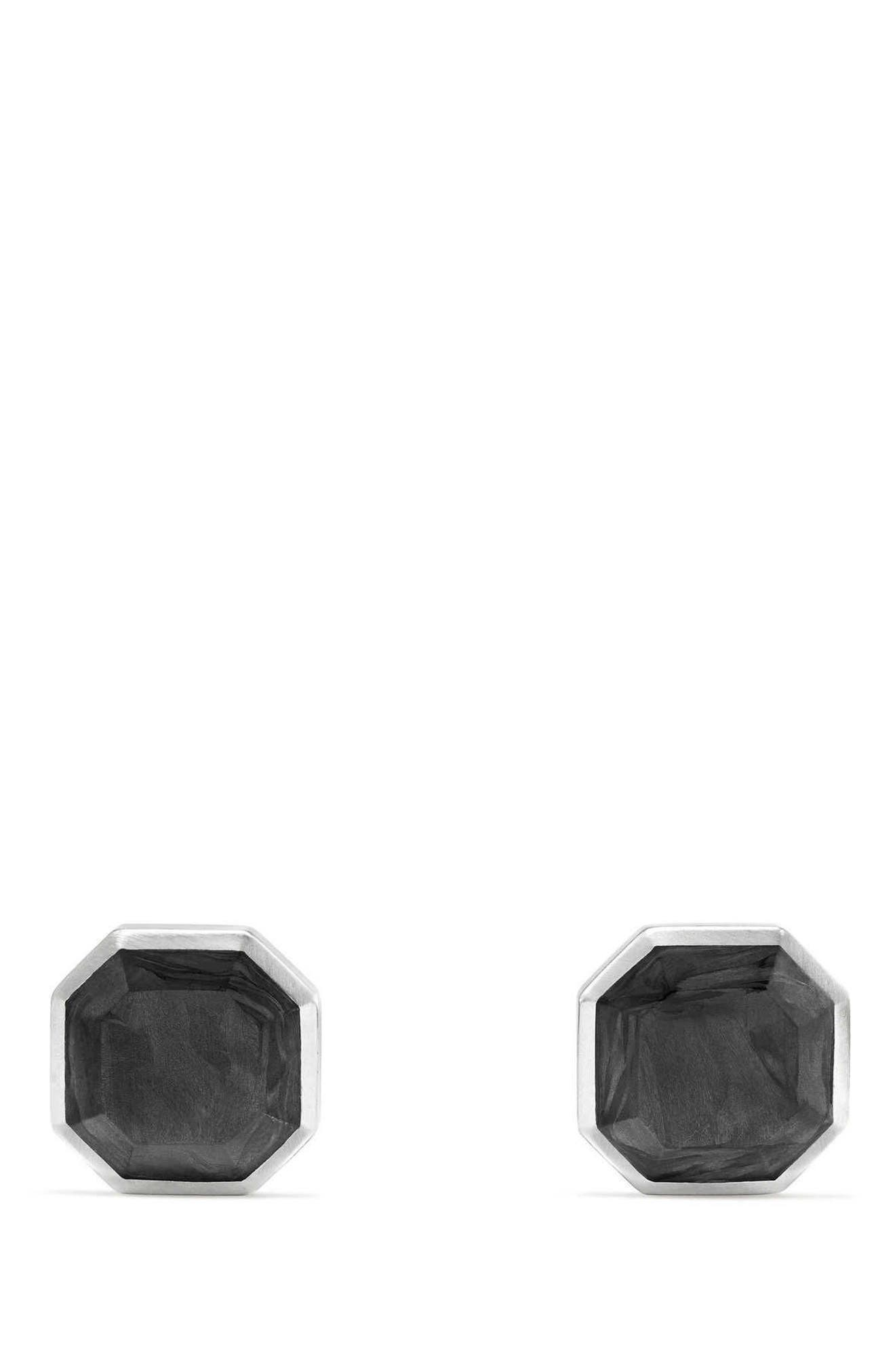 Forged Carbon Cuff Links,                             Main thumbnail 1, color,                             029