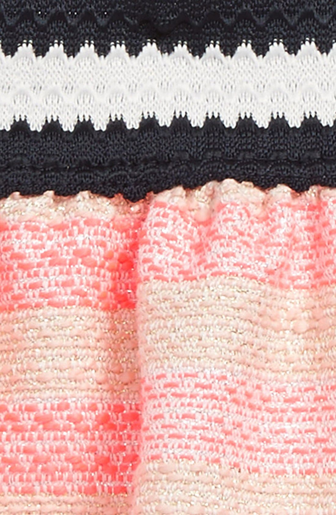 Metallic Jacquard Stripe Skirt,                             Alternate thumbnail 2, color,                             661