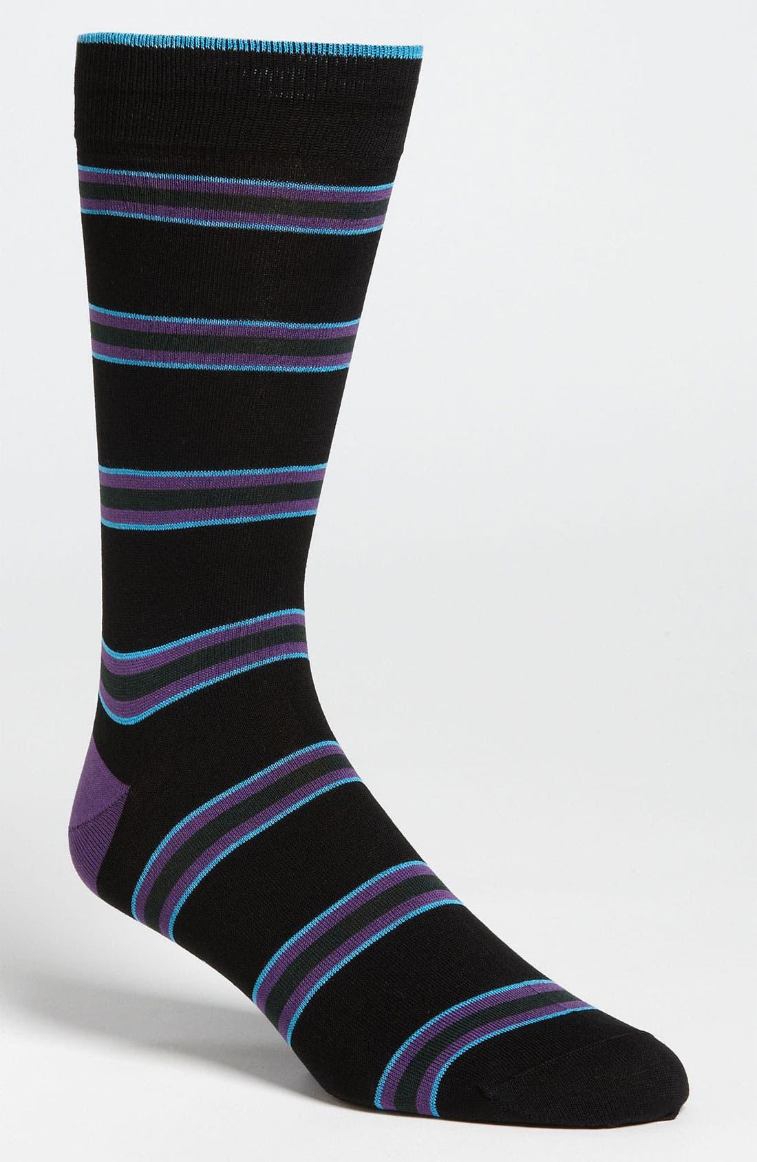 Stripe Socks,                             Main thumbnail 10, color,