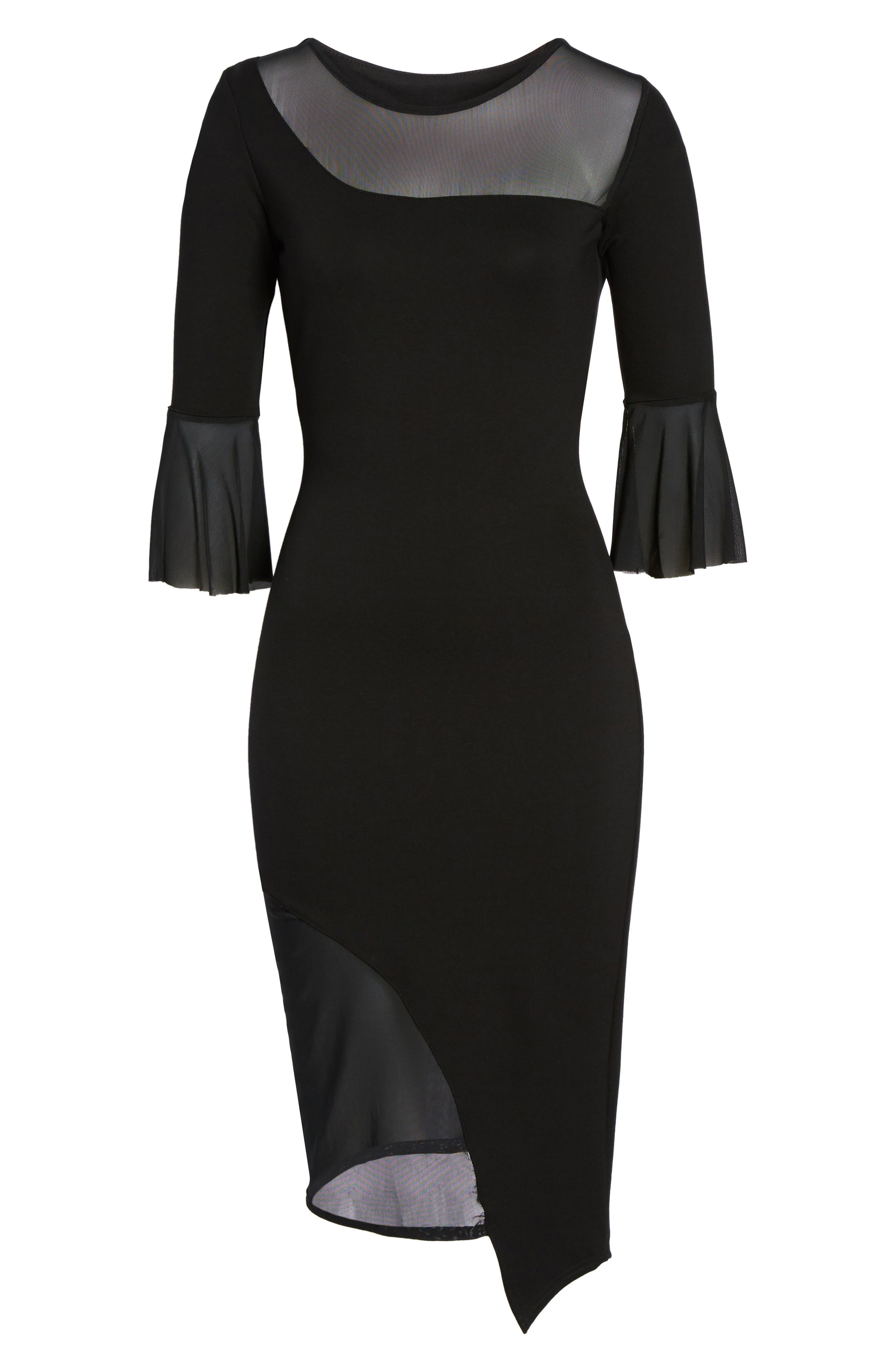 The Fluttering Temptress Dress,                             Alternate thumbnail 6, color,