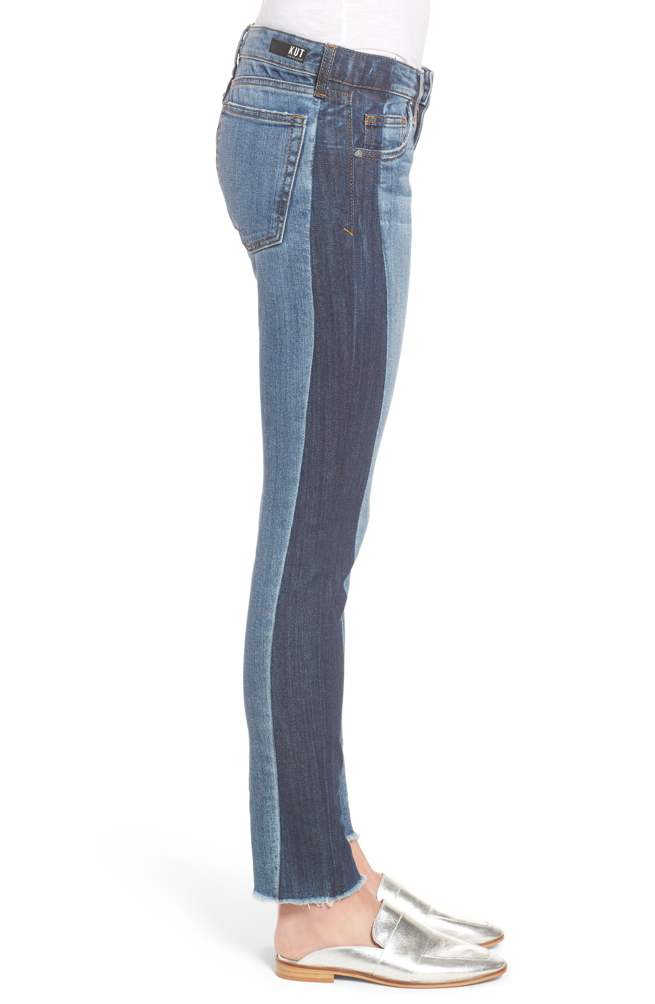 Reese Patch Jeans,                             Alternate thumbnail 3, color,                             460