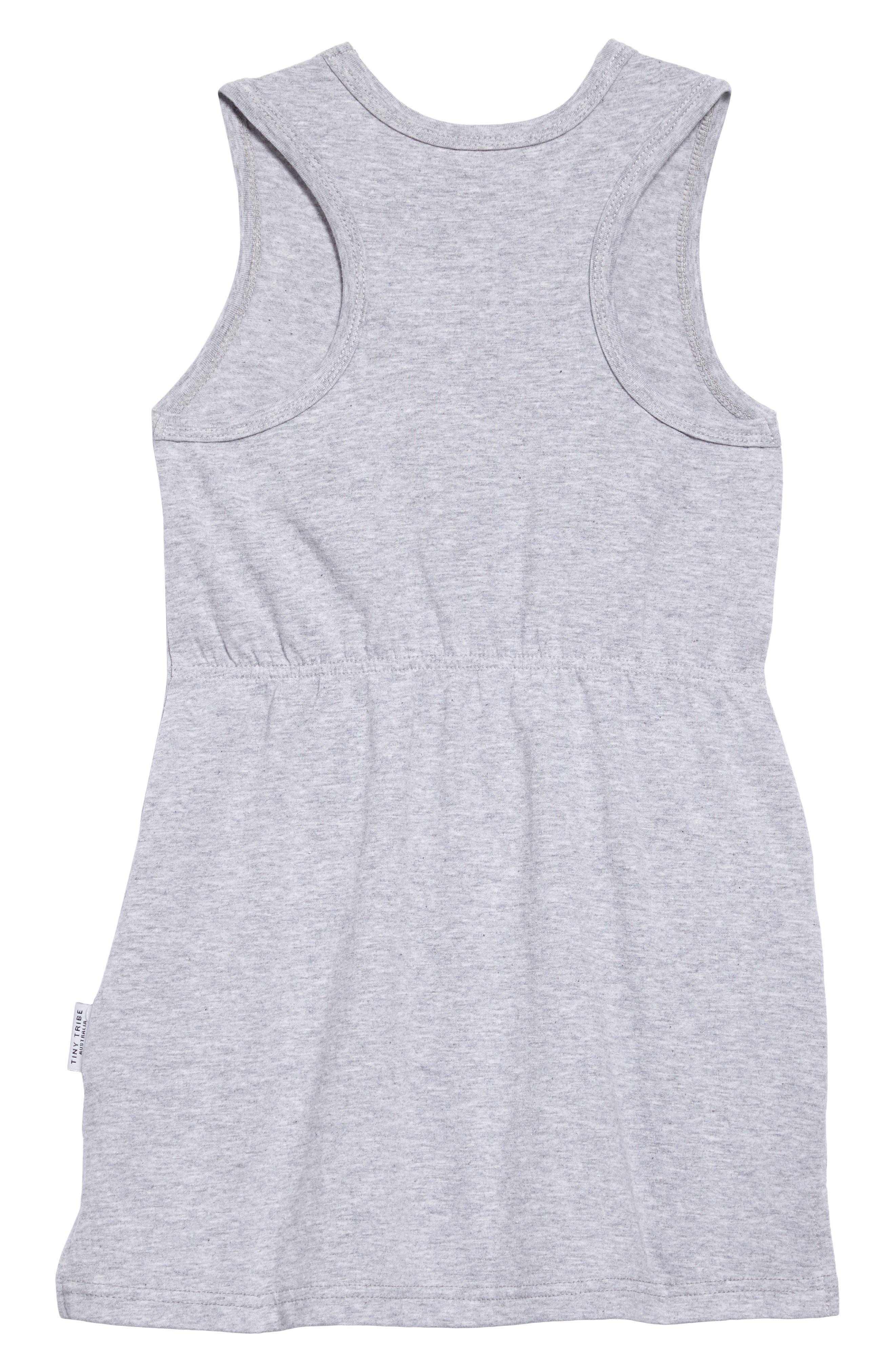 Swan Racerback Dress,                             Alternate thumbnail 2, color,                             035
