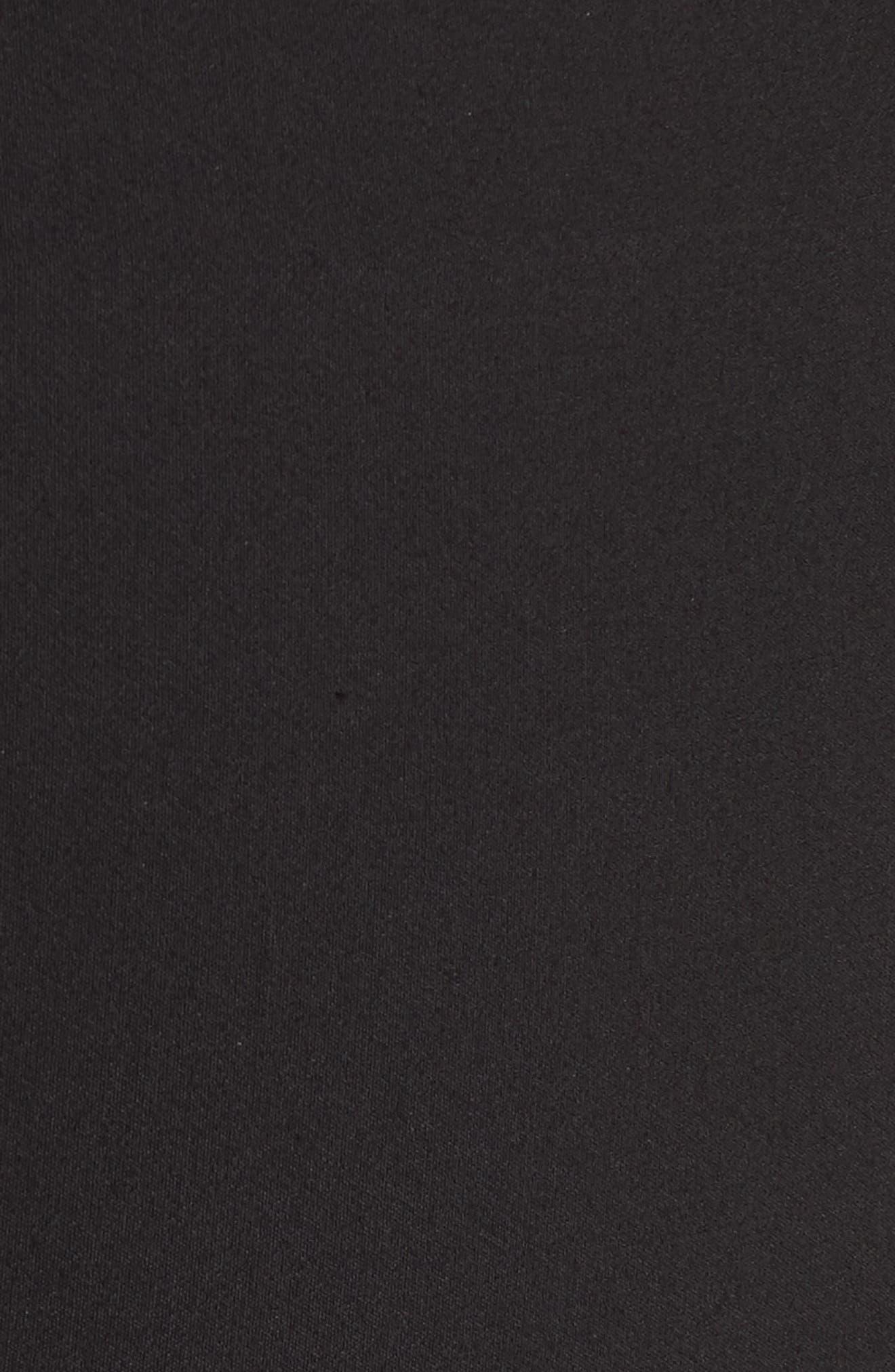 Coin Pocket Leggings,                             Alternate thumbnail 5, color,                             BLACK