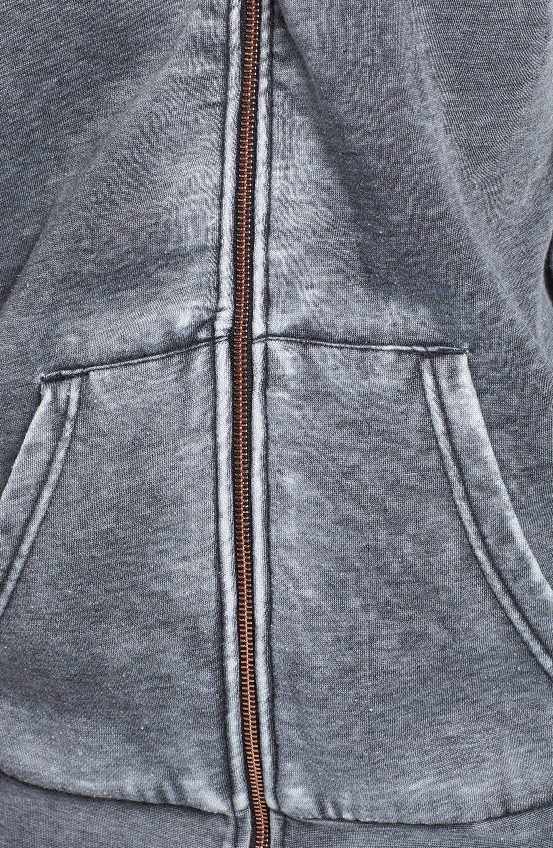 Full Zip Hooded Sweatshirt,                             Alternate thumbnail 2, color,                             020
