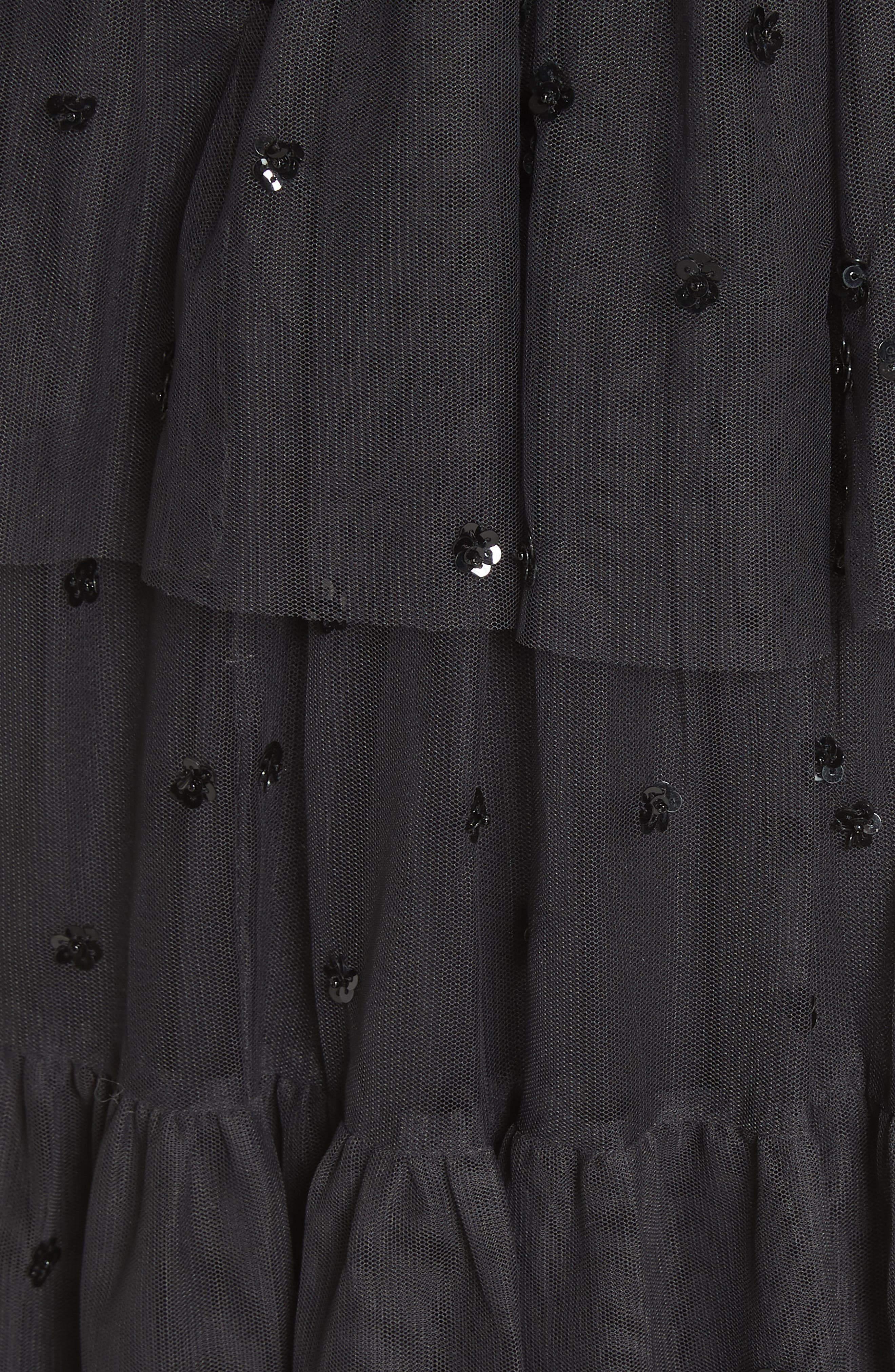 Mirage Sequin Dress,                             Alternate thumbnail 5, color,                             021