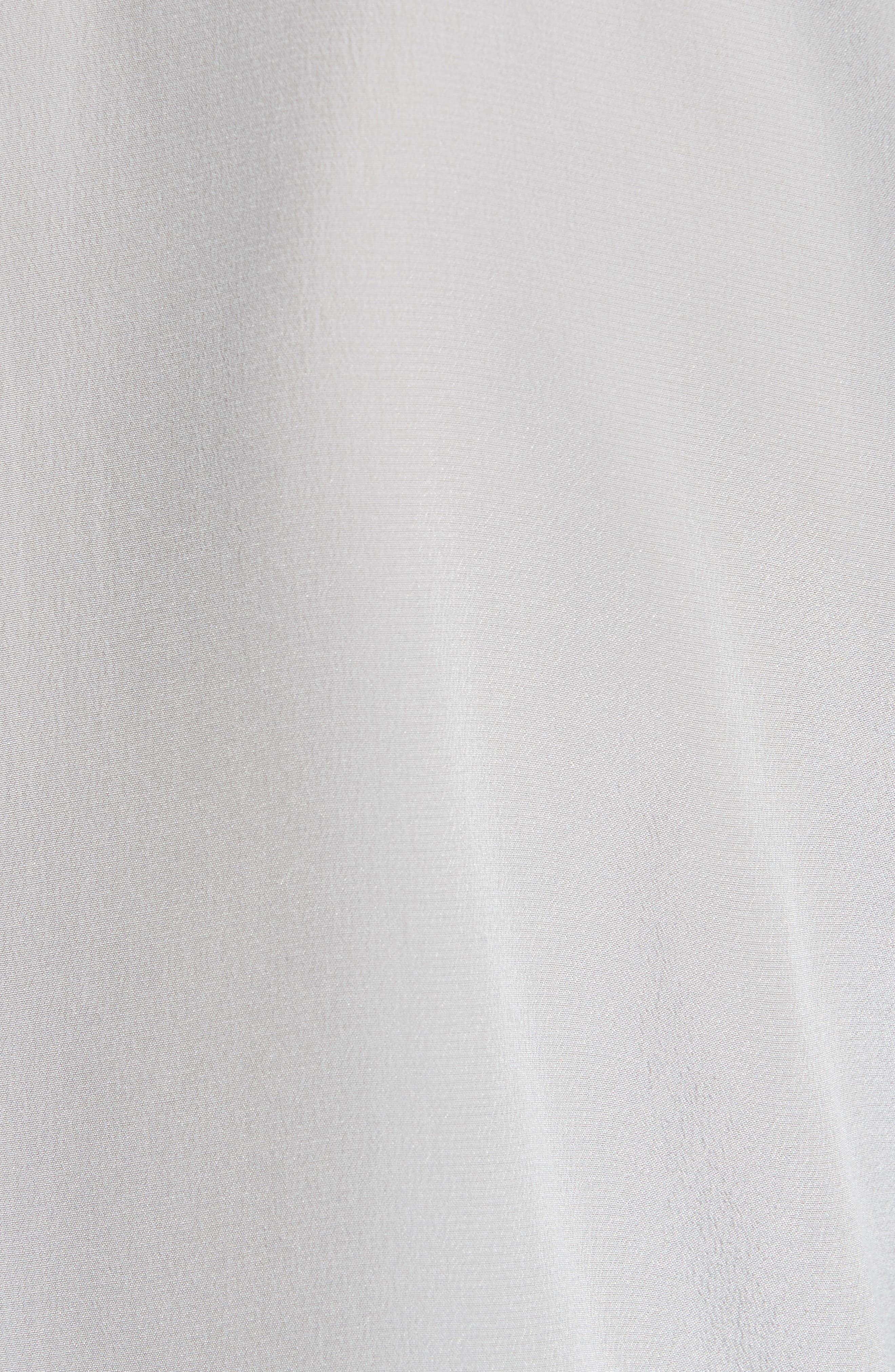 'Slim Signature' Silk Shirt,                             Alternate thumbnail 5, color,                             056