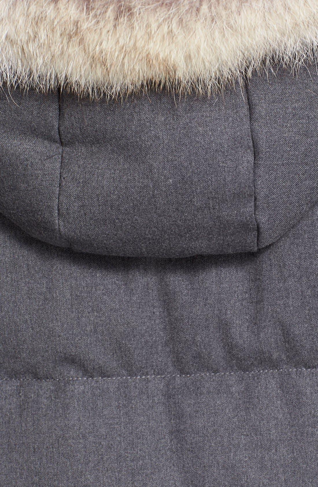 'Sasha' Puffer Jacket,                             Alternate thumbnail 3, color,                             028