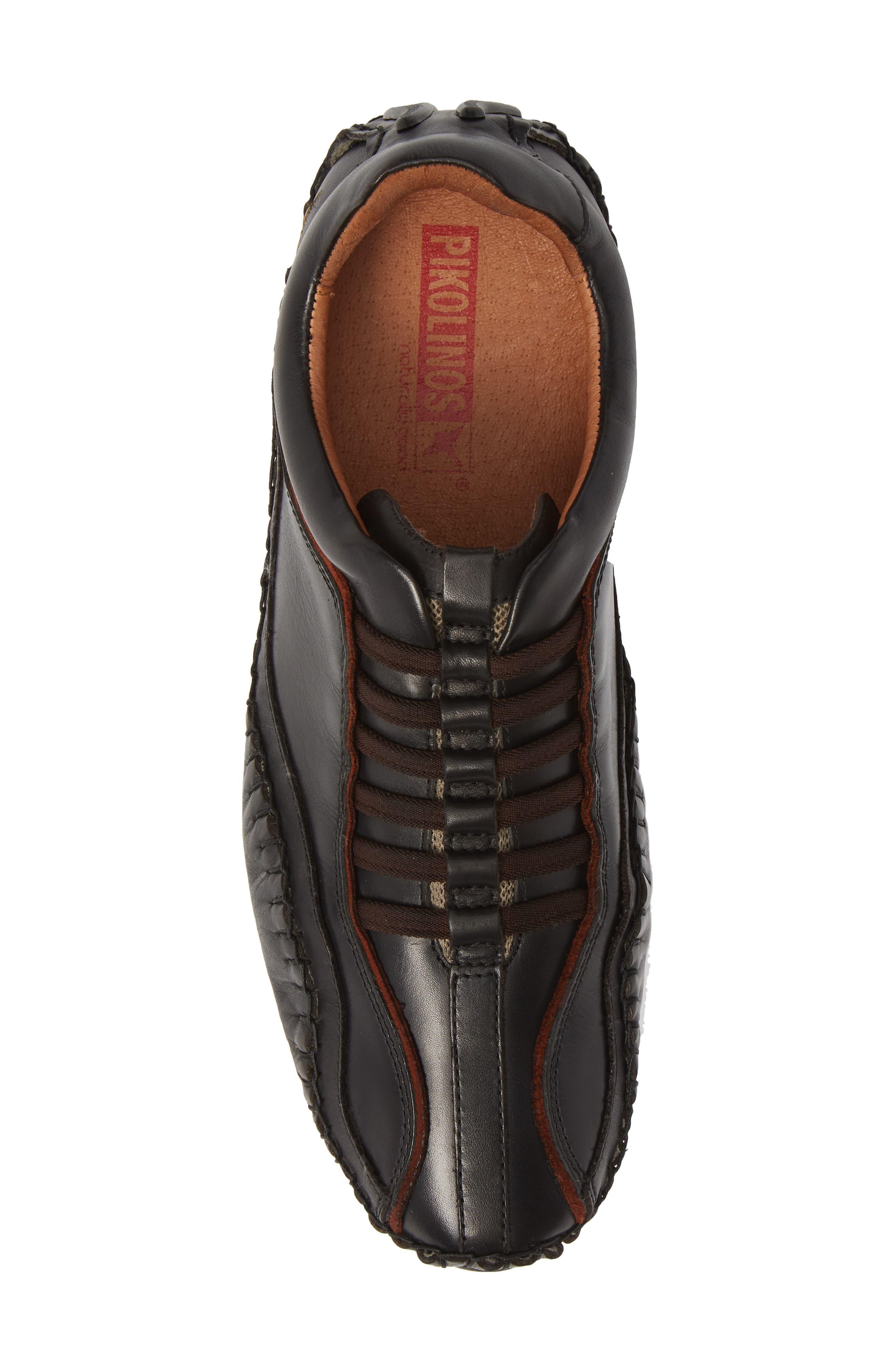 'Fuencarral' Driving Shoe,                             Alternate thumbnail 5, color,                             BLACK