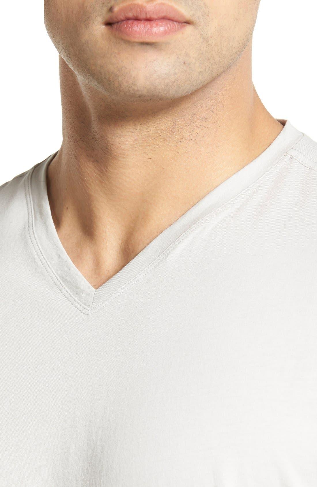 Sida V-Neck T-Shirt,                             Alternate thumbnail 4, color,                             054