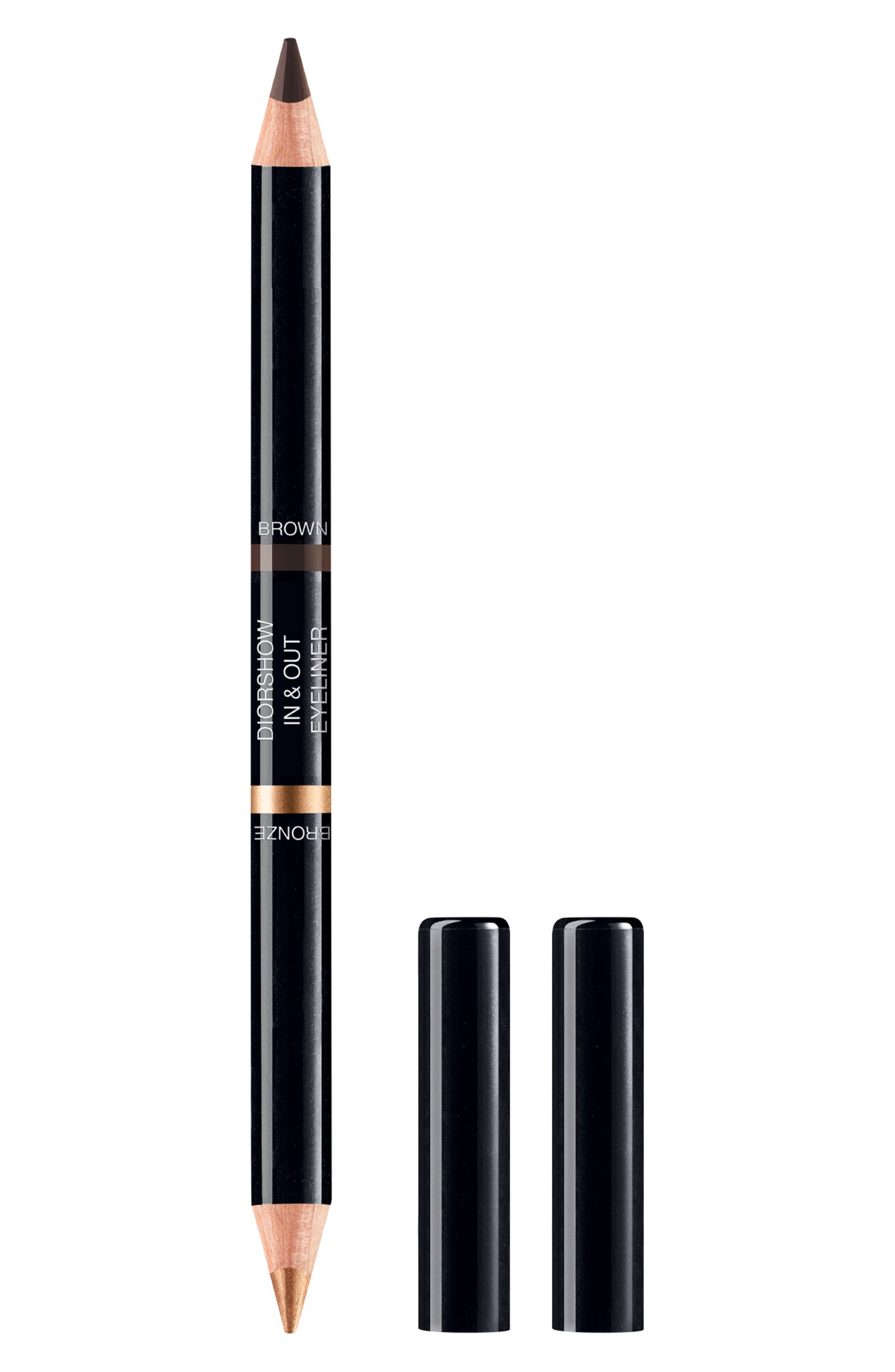 Dior Diorshow In & Out Waterproof Eyeliner - 002 Brown/gold