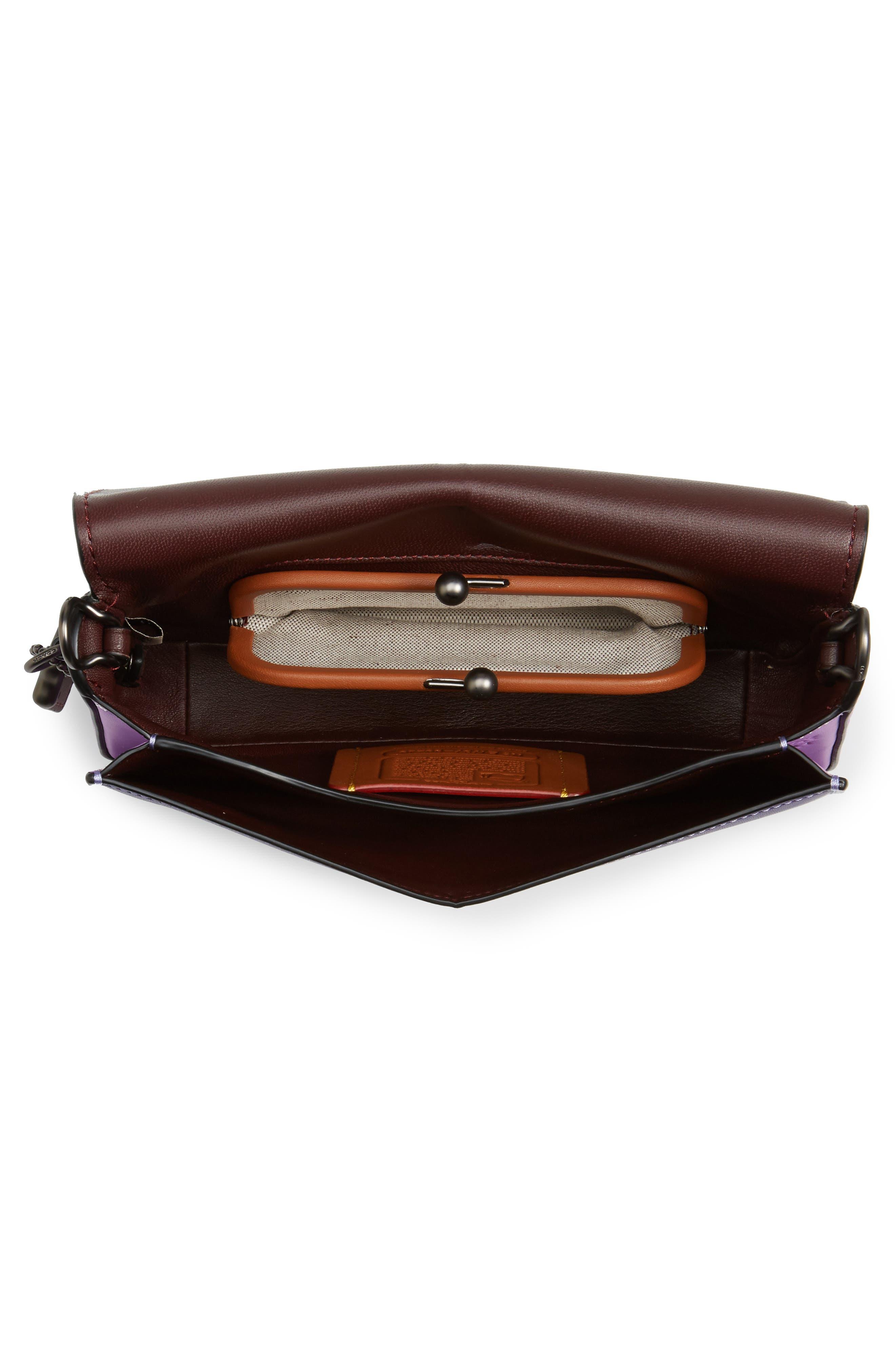 Dinky Leather Crossbody Bag,                             Alternate thumbnail 6, color,