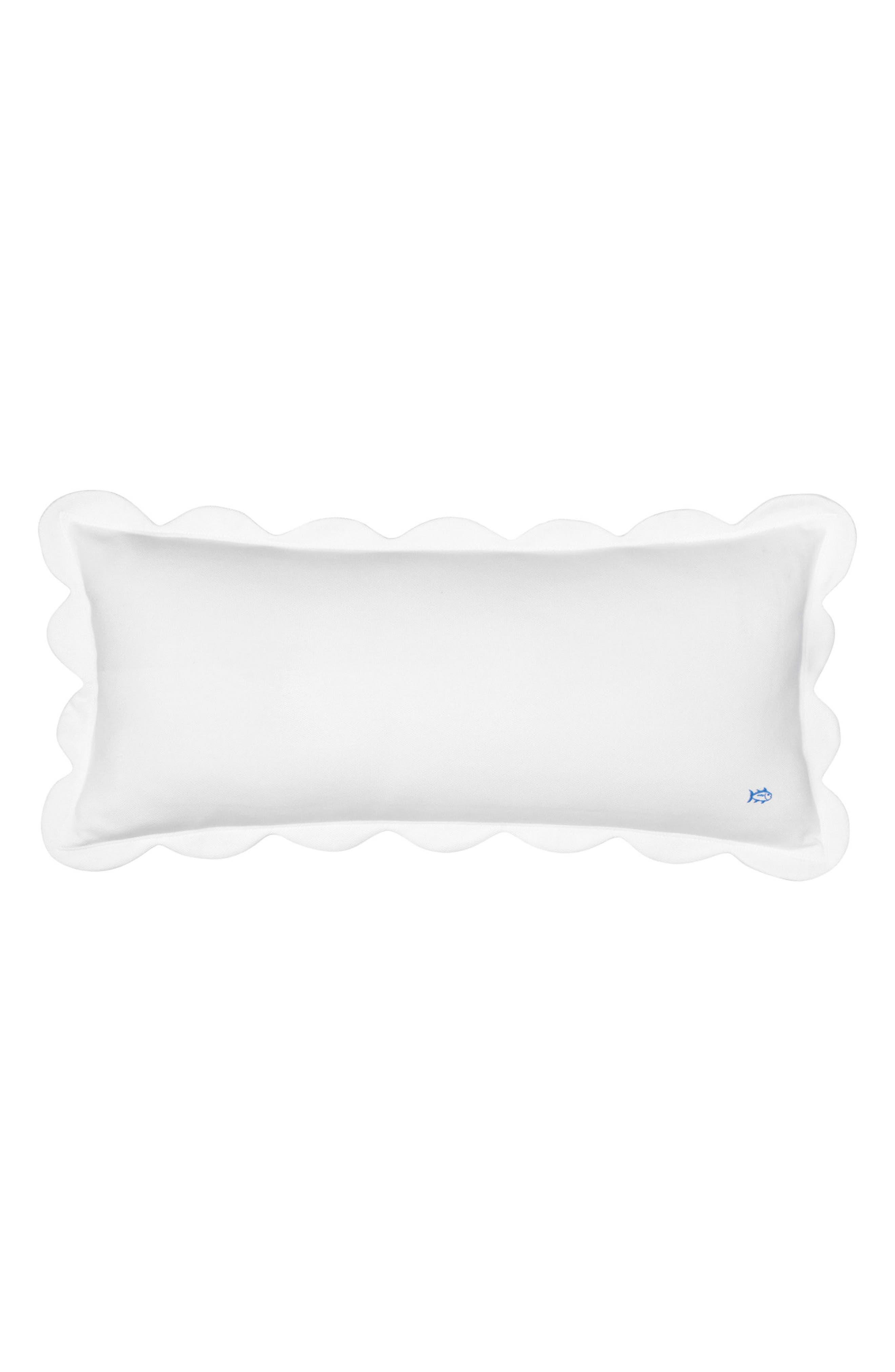 Sailgate Scalloped Accent Pillow,                             Main thumbnail 1, color,                             100