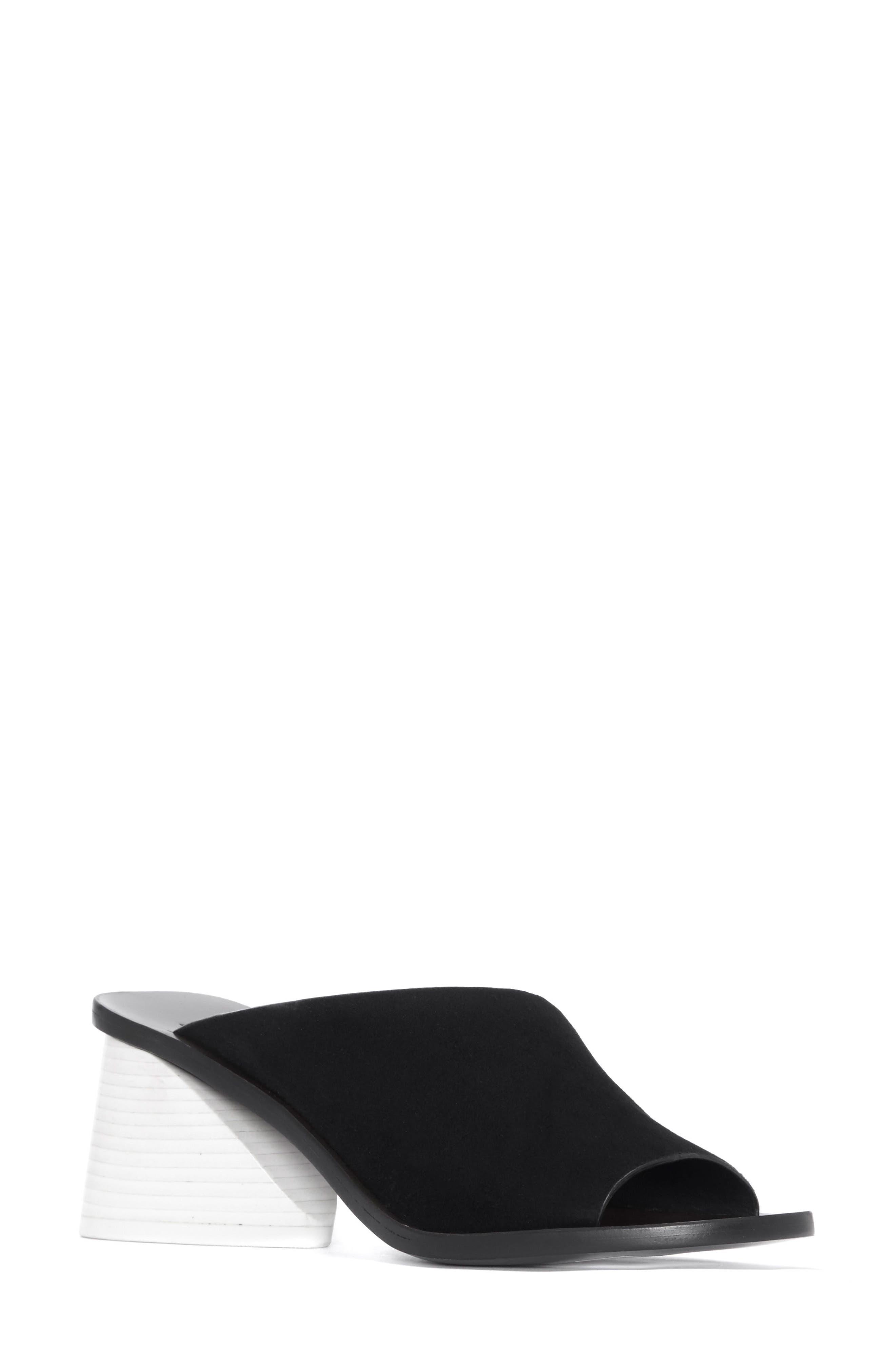 Izar Slide Sandal,                         Main,                         color, BLACK