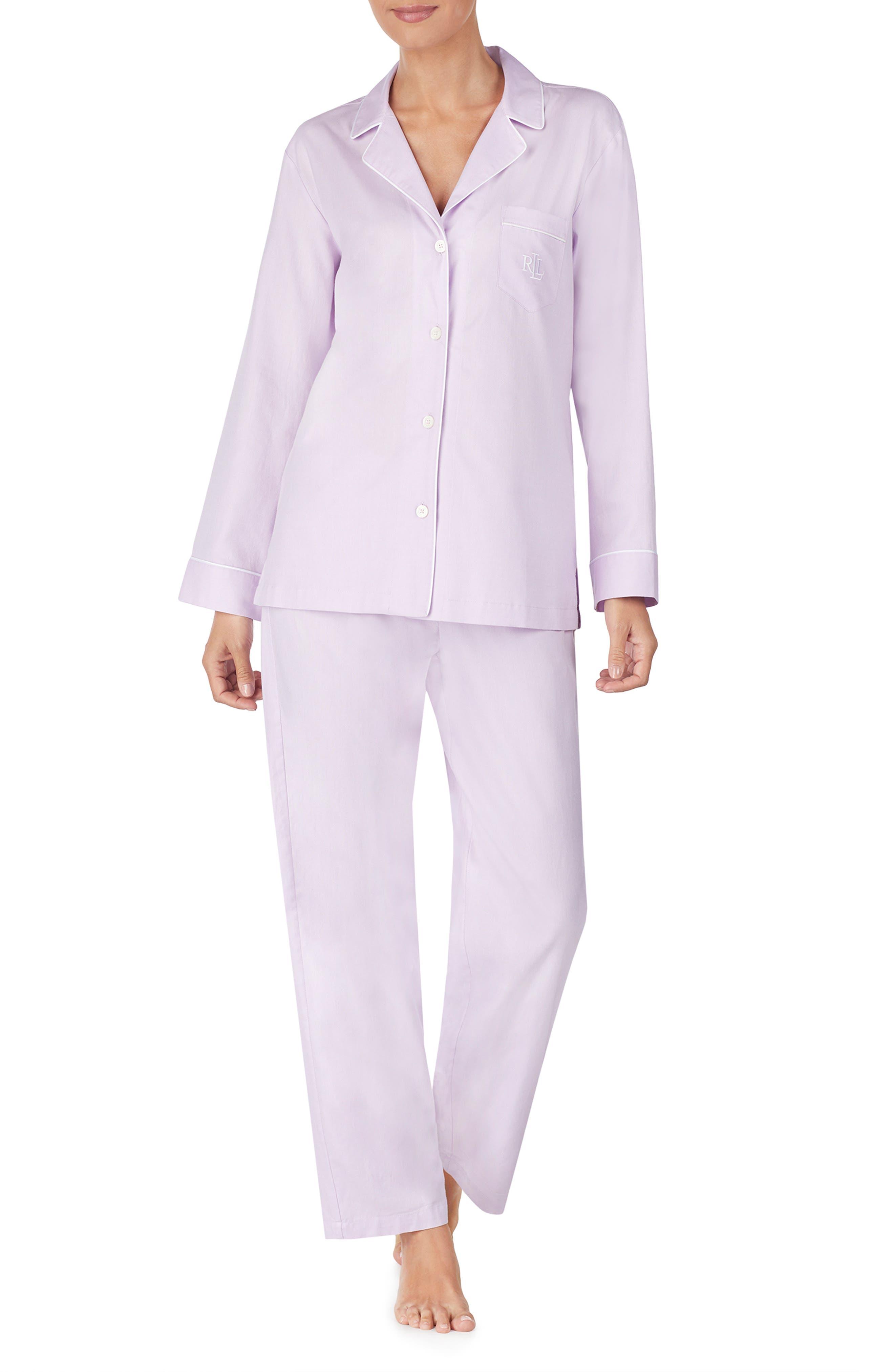 Pajamas,                             Main thumbnail 1, color,                             LAVENDER
