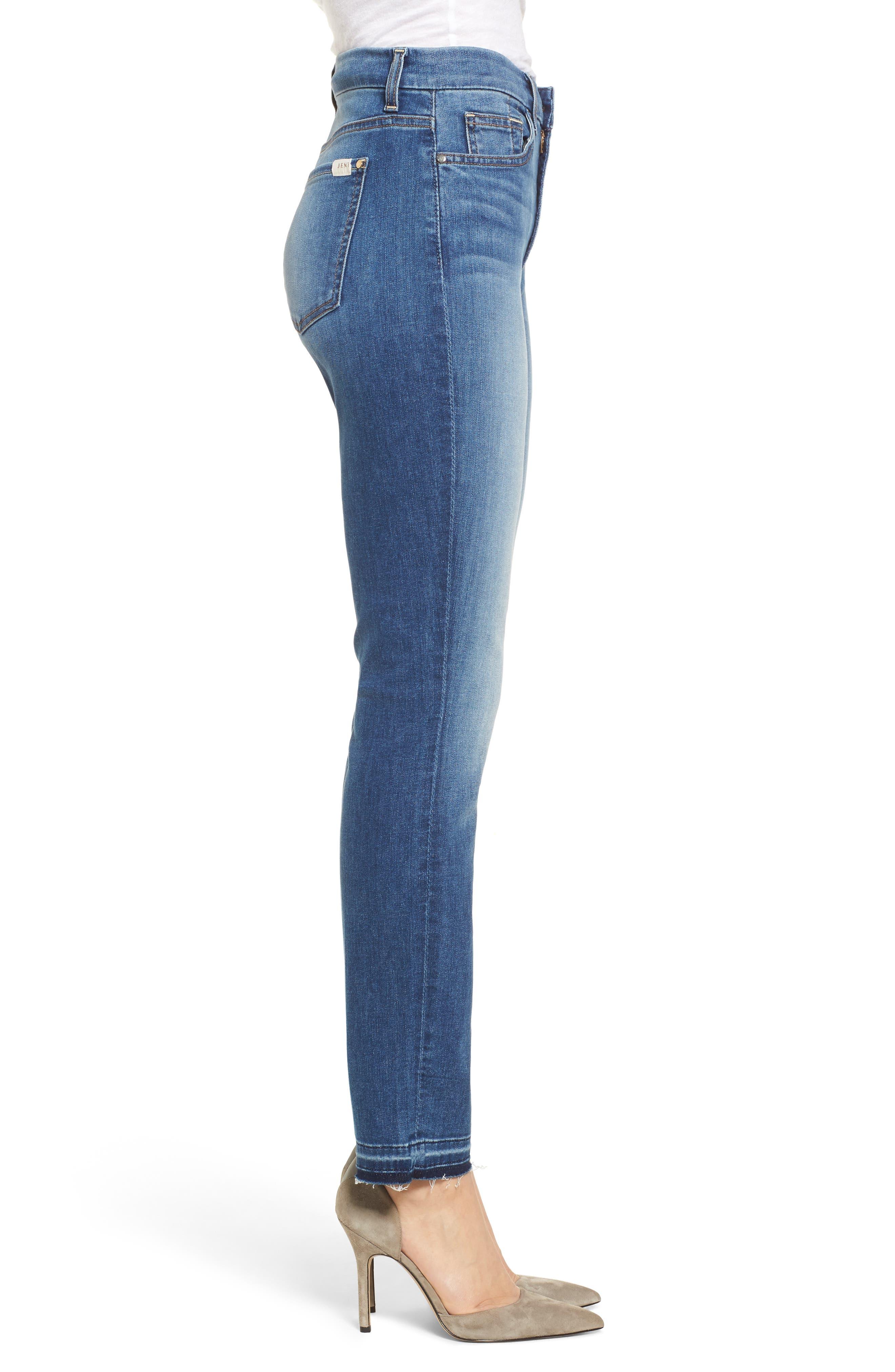 Release Hem Ankle Skinny Jeans,                             Alternate thumbnail 3, color,                             400