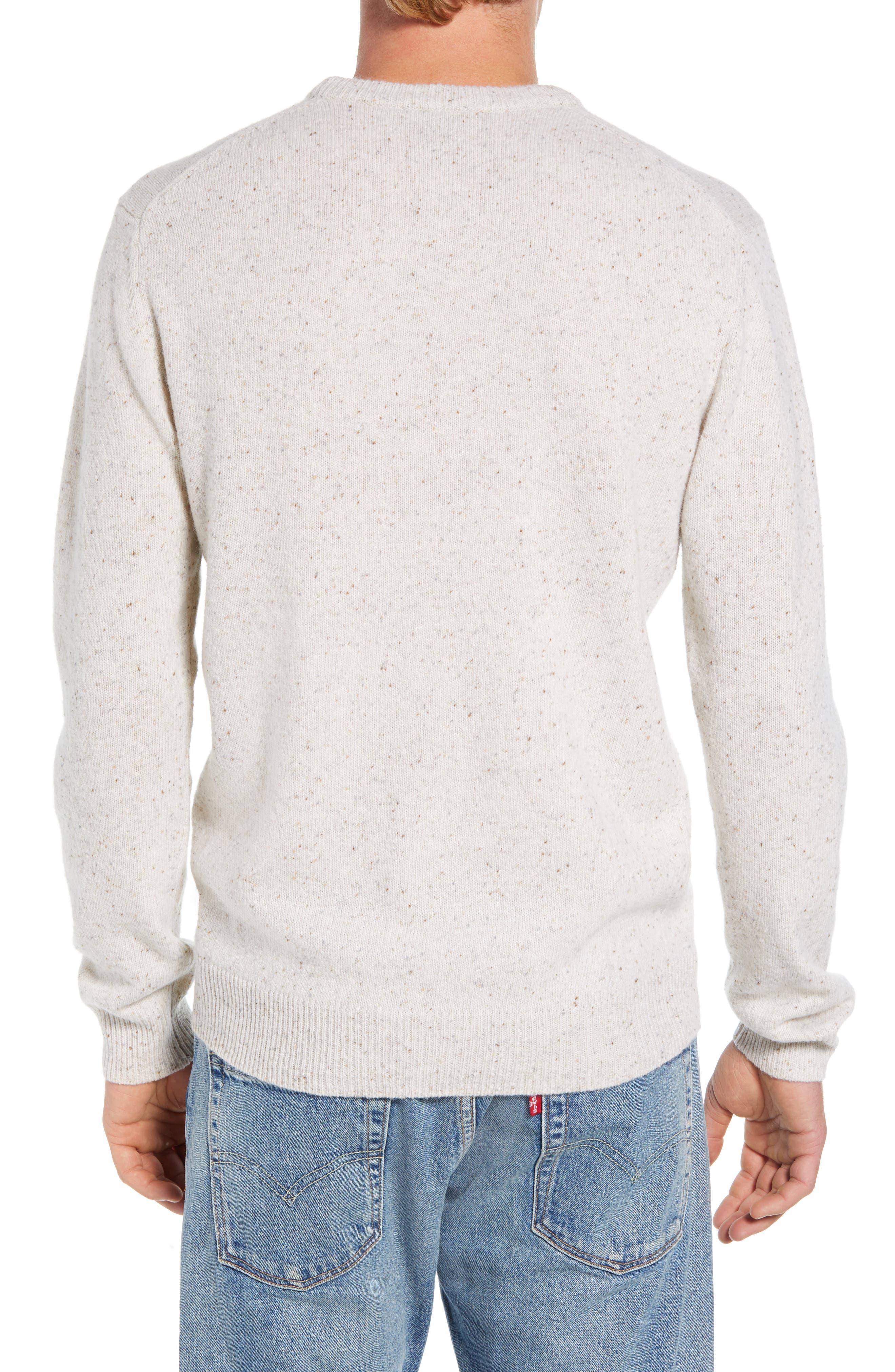 Donegal Sweater,                             Alternate thumbnail 2, color,                             CUBA WHITE