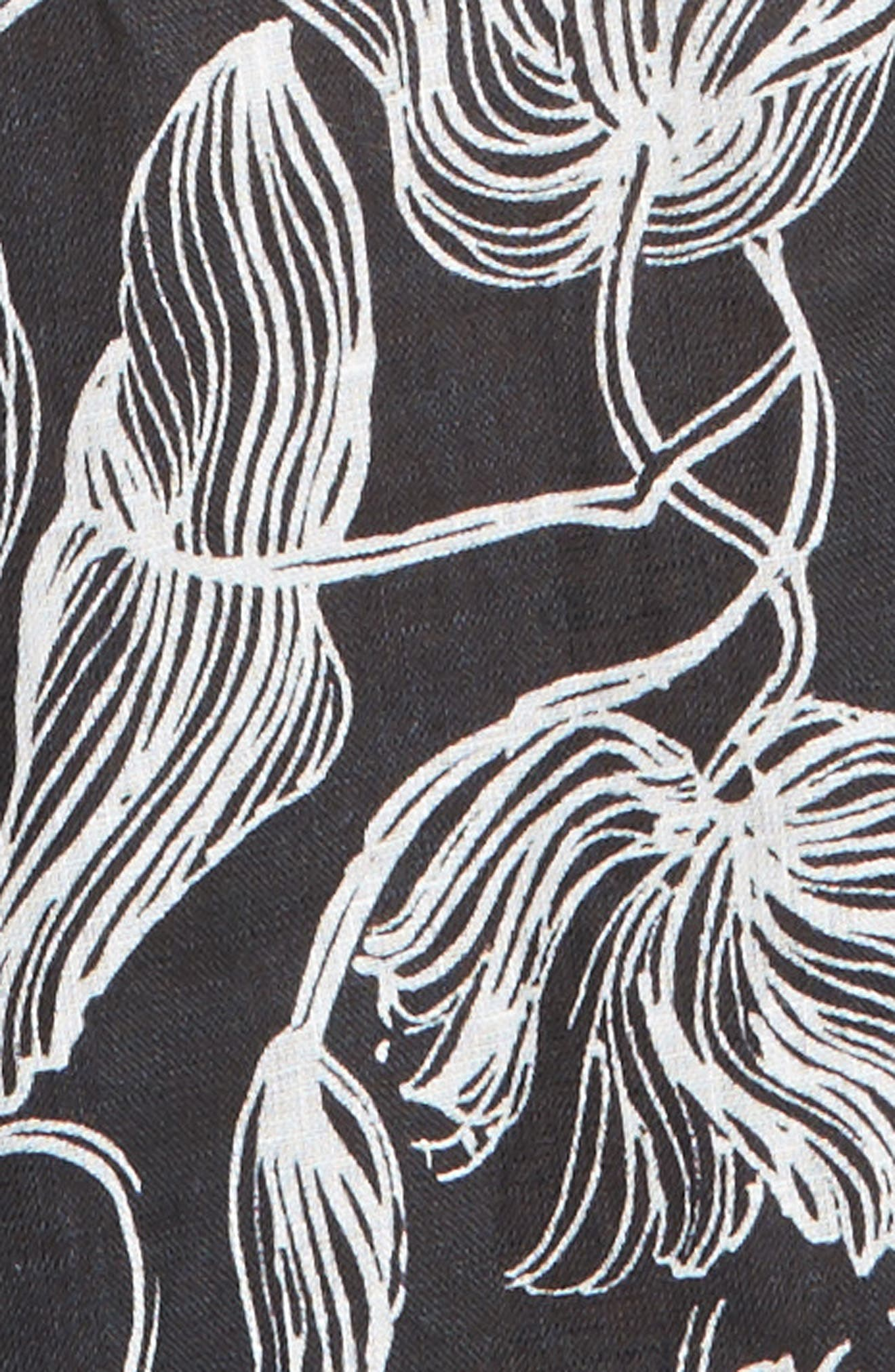 'Rhoads' Jumpsuit,                             Alternate thumbnail 5, color,                             BLACK