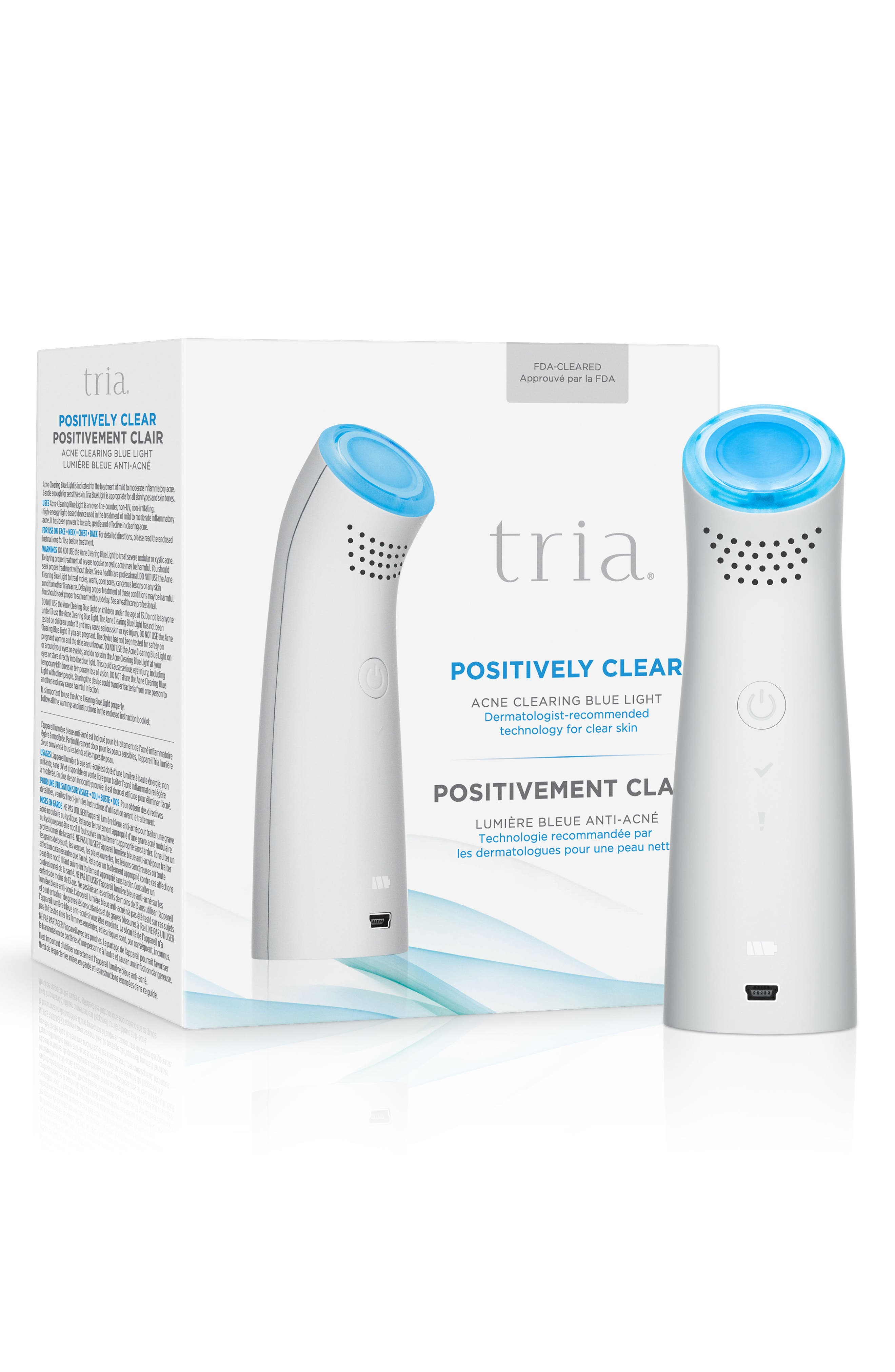 Positively Clear Acne Clearing Blue Light Device,                             Alternate thumbnail 3, color,                             NO COLOR