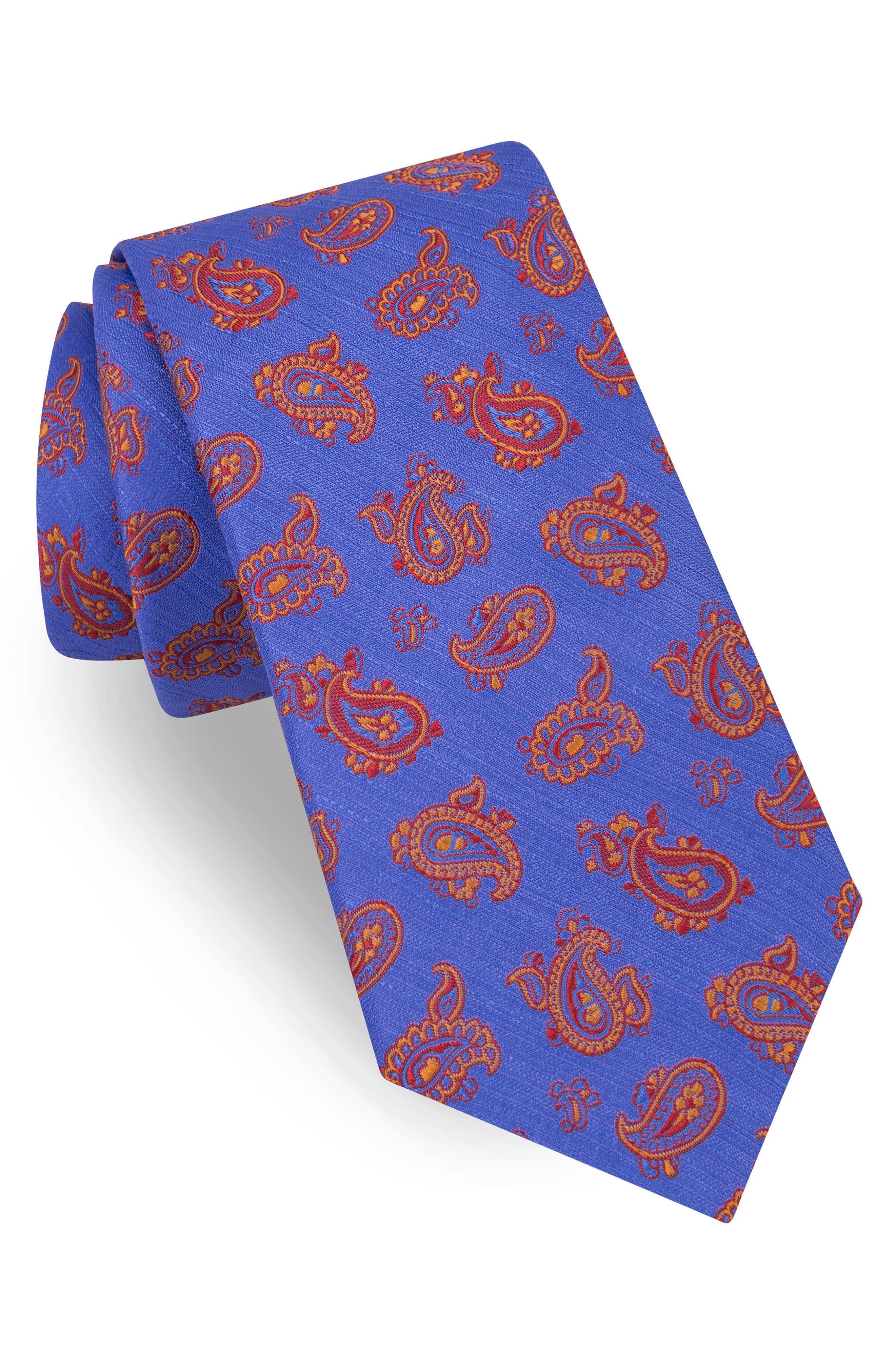 Marvelous Paisley Silk Tie,                             Main thumbnail 2, color,